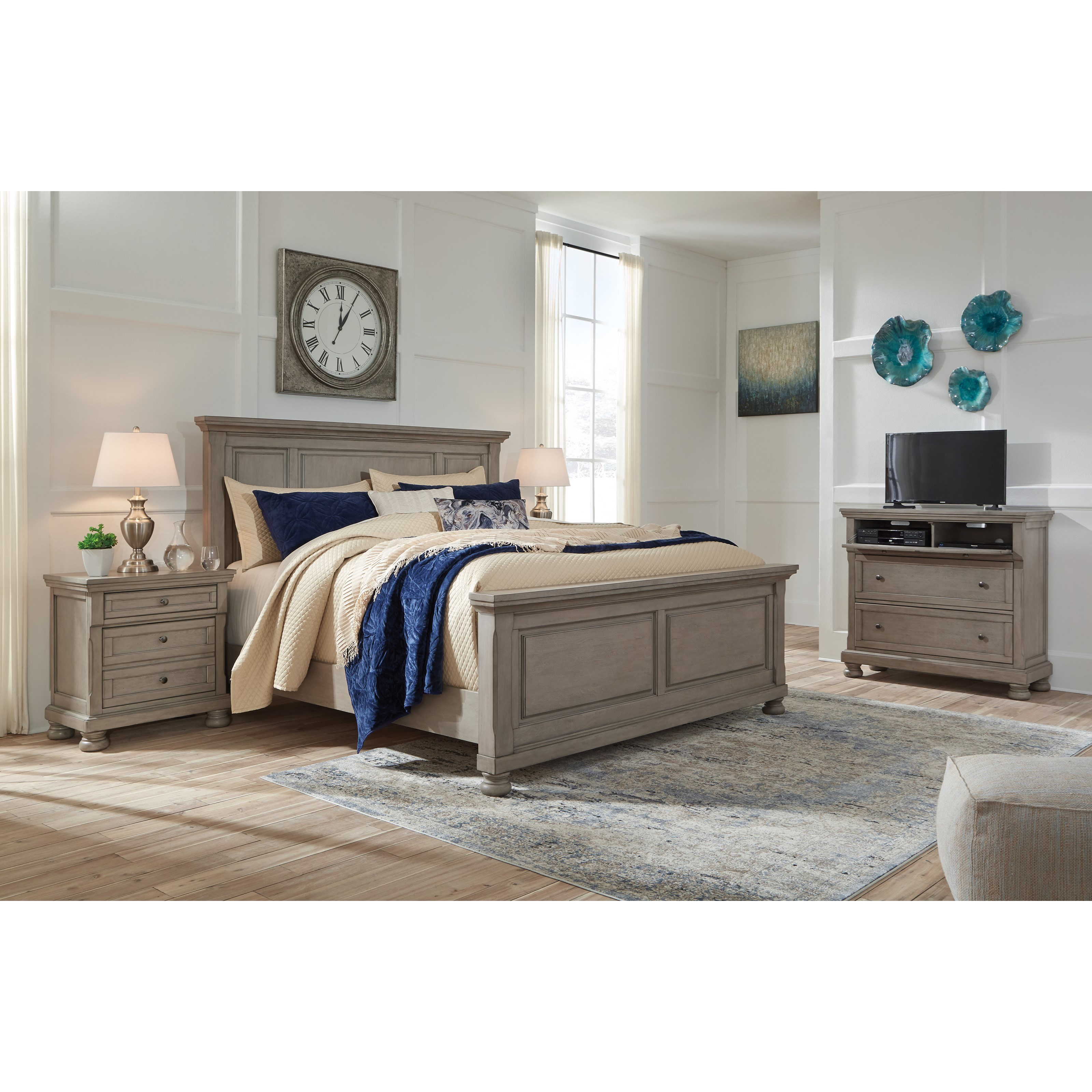 Lettner King Bedroom Group by Signature Design by Ashley at Standard Furniture