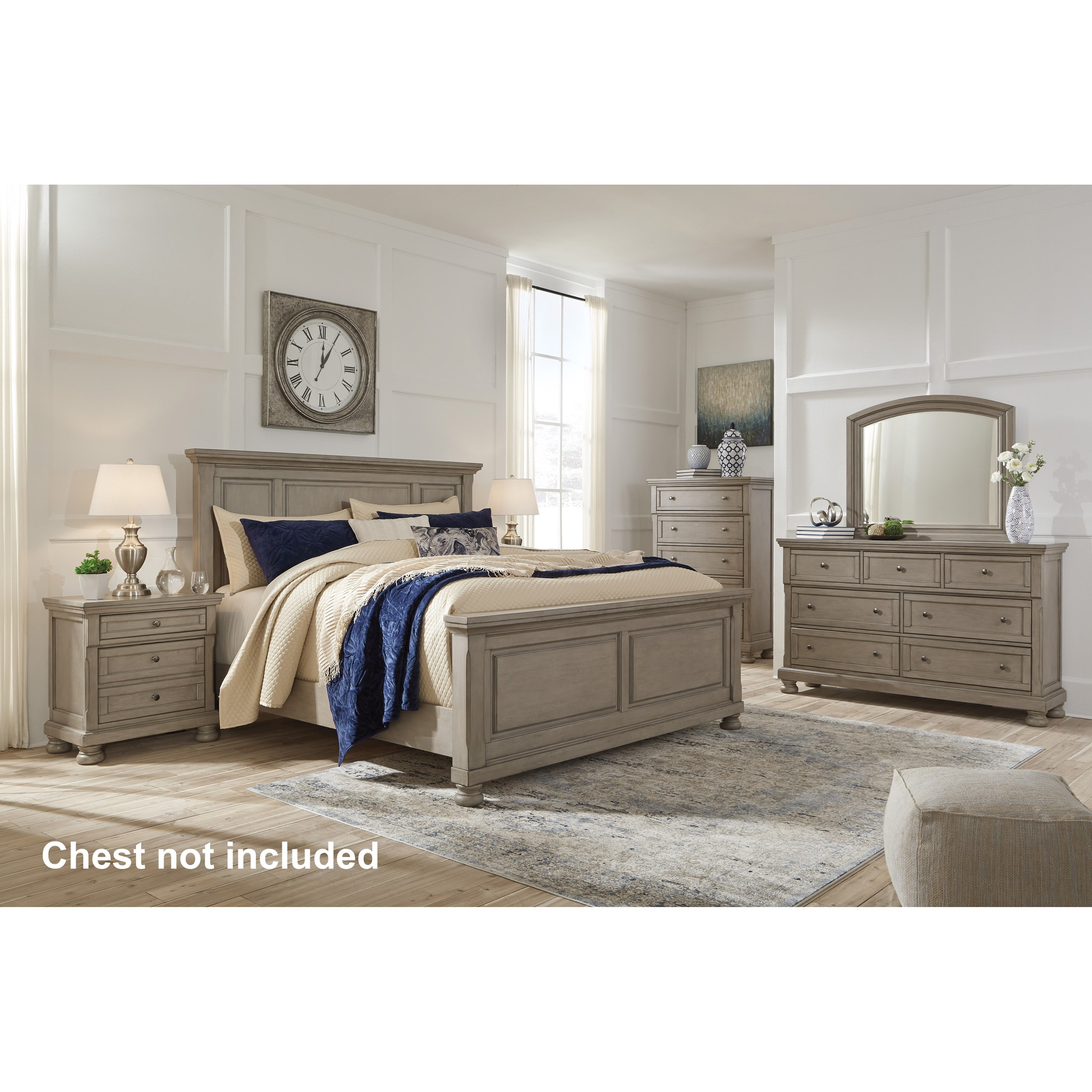 Lettner King Bedroom Group by Signature Design by Ashley at Beck's Furniture