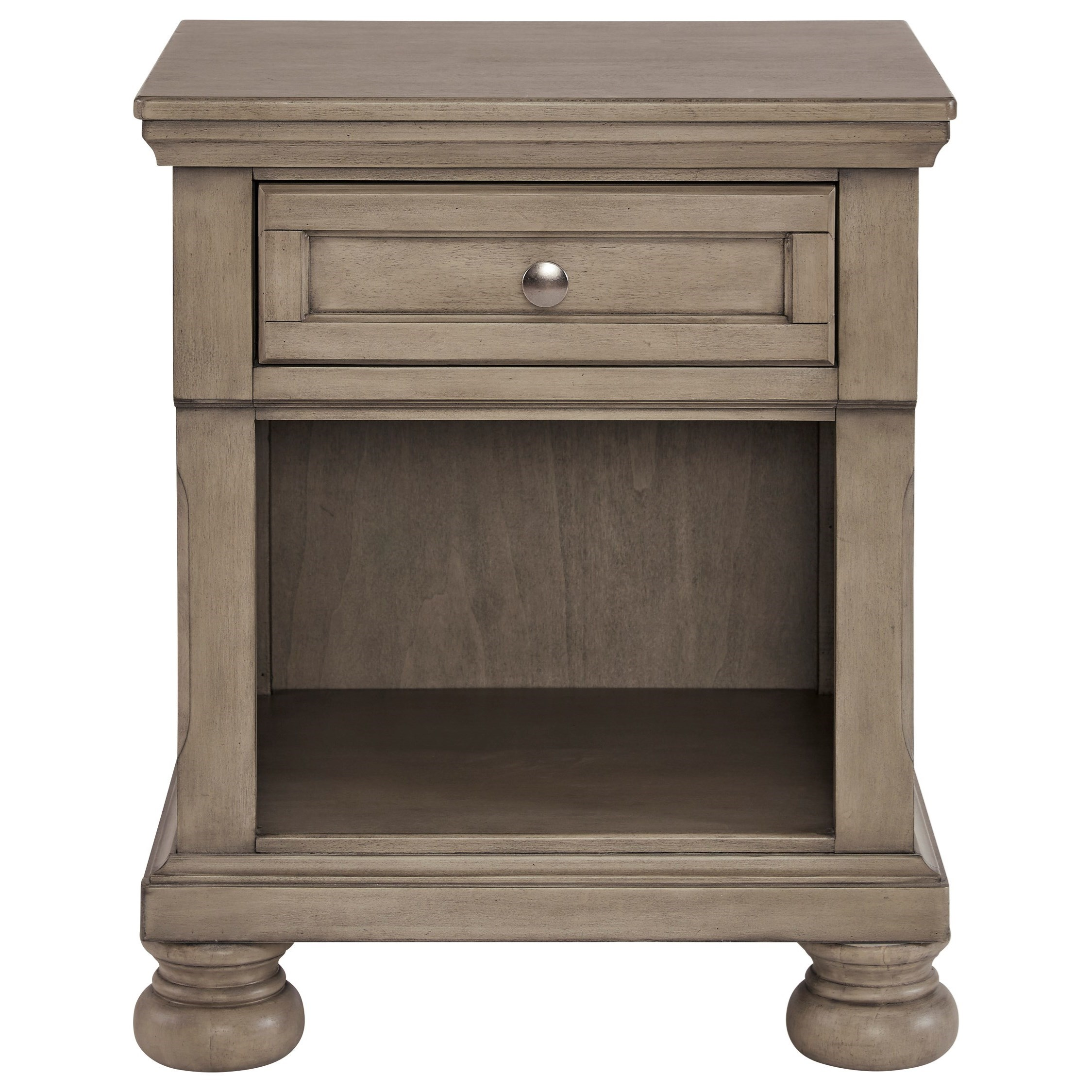 Lettner 1-Drawer Nightstand by Ashley (Signature Design) at Johnny Janosik