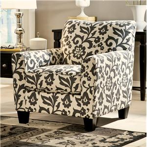 Accent Chair in Floral Print