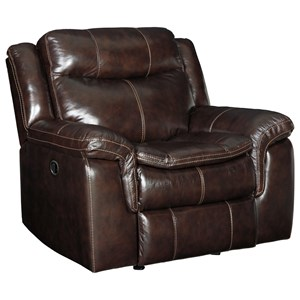 Power Rocker Recliner with USP Plug In
