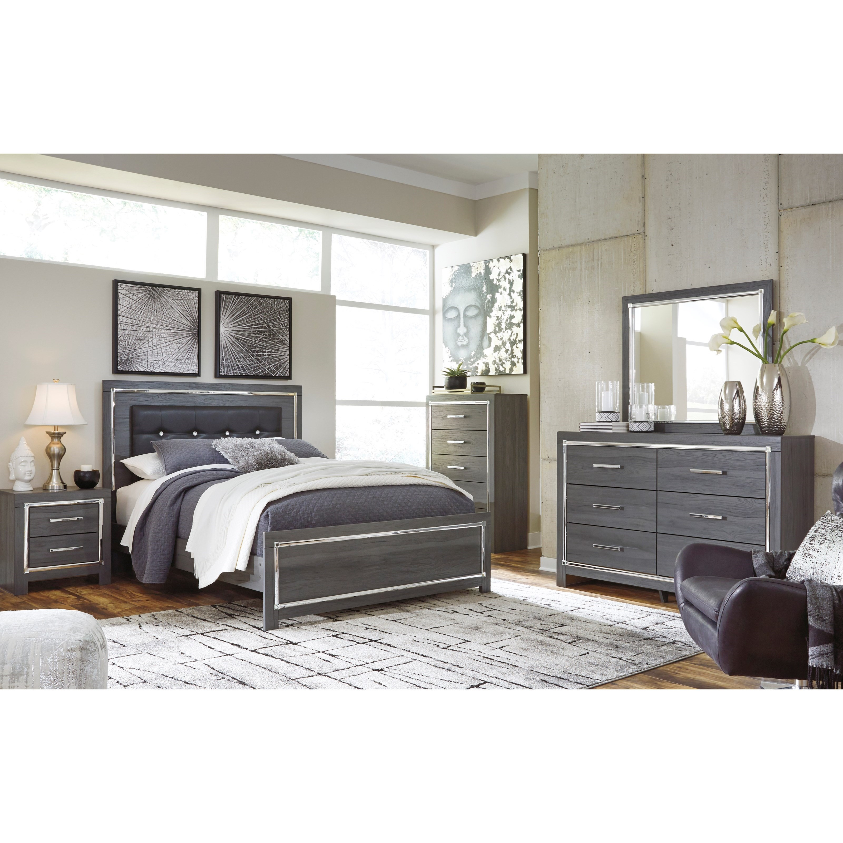 Lodana Queen Bedroom Group by Ashley (Signature Design) at Johnny Janosik