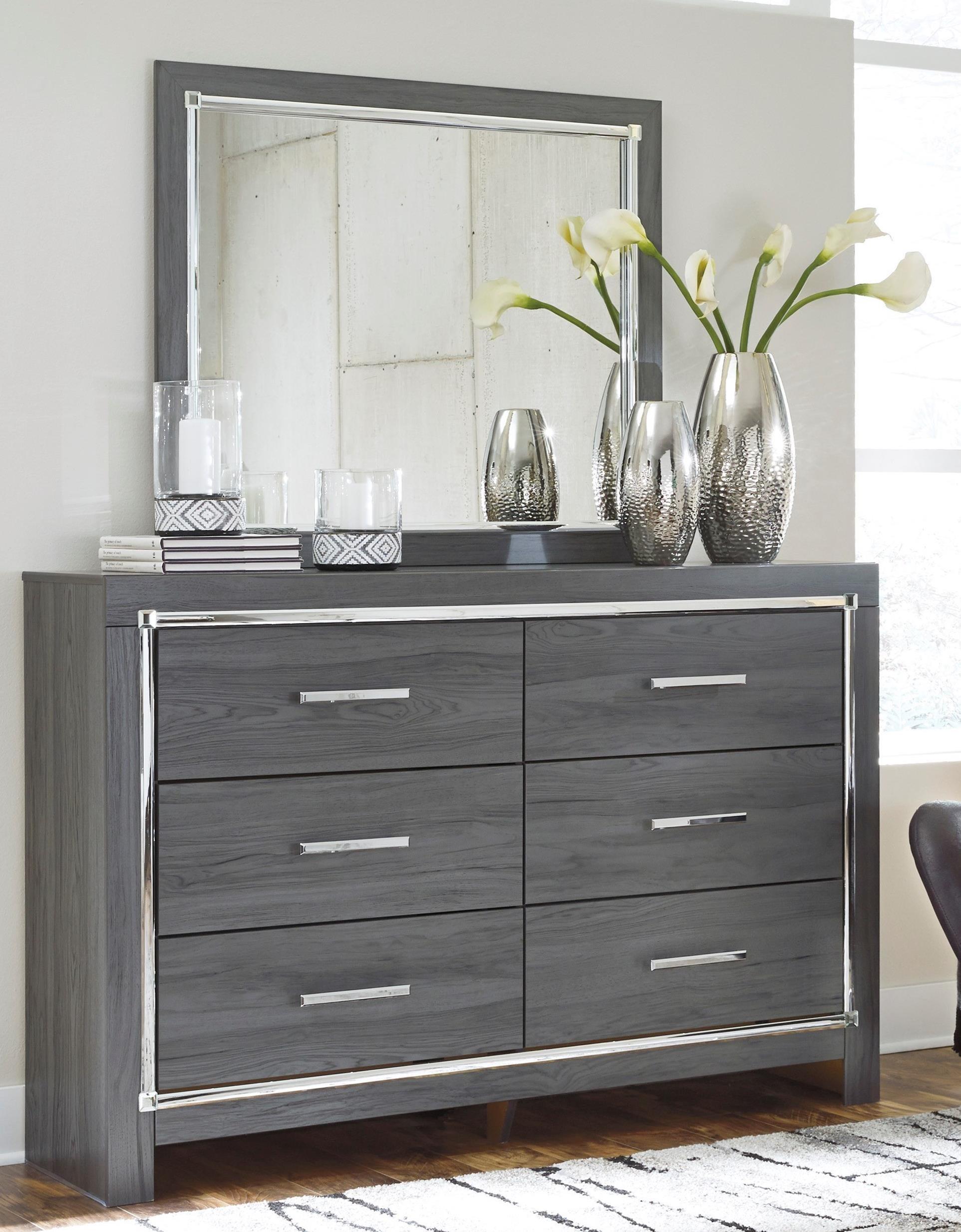 Lodana Dresser and Mirror Set by Ashley (Signature Design) at Johnny Janosik