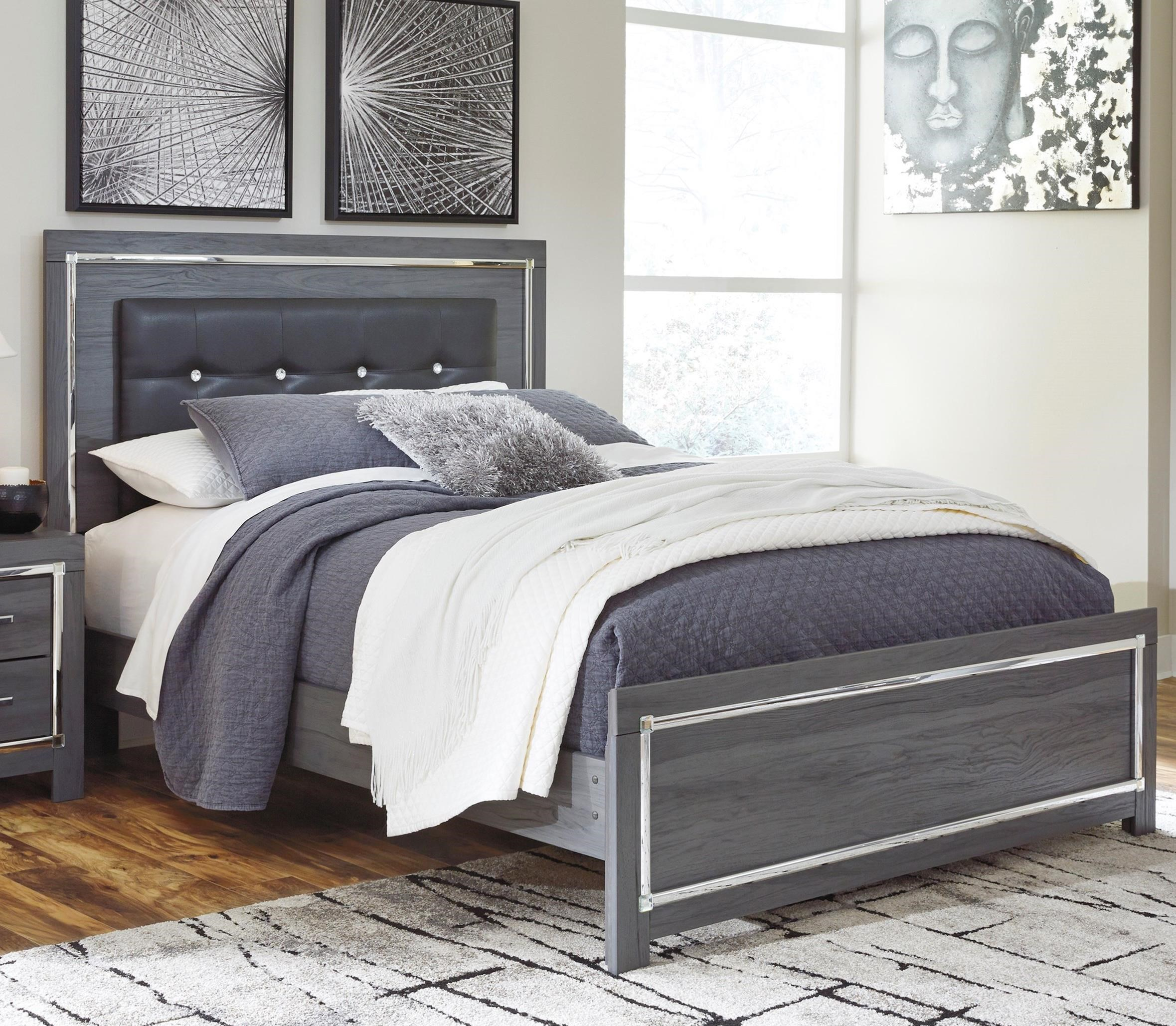 Lodana Queen Upholstered Bed by Ashley (Signature Design) at Johnny Janosik