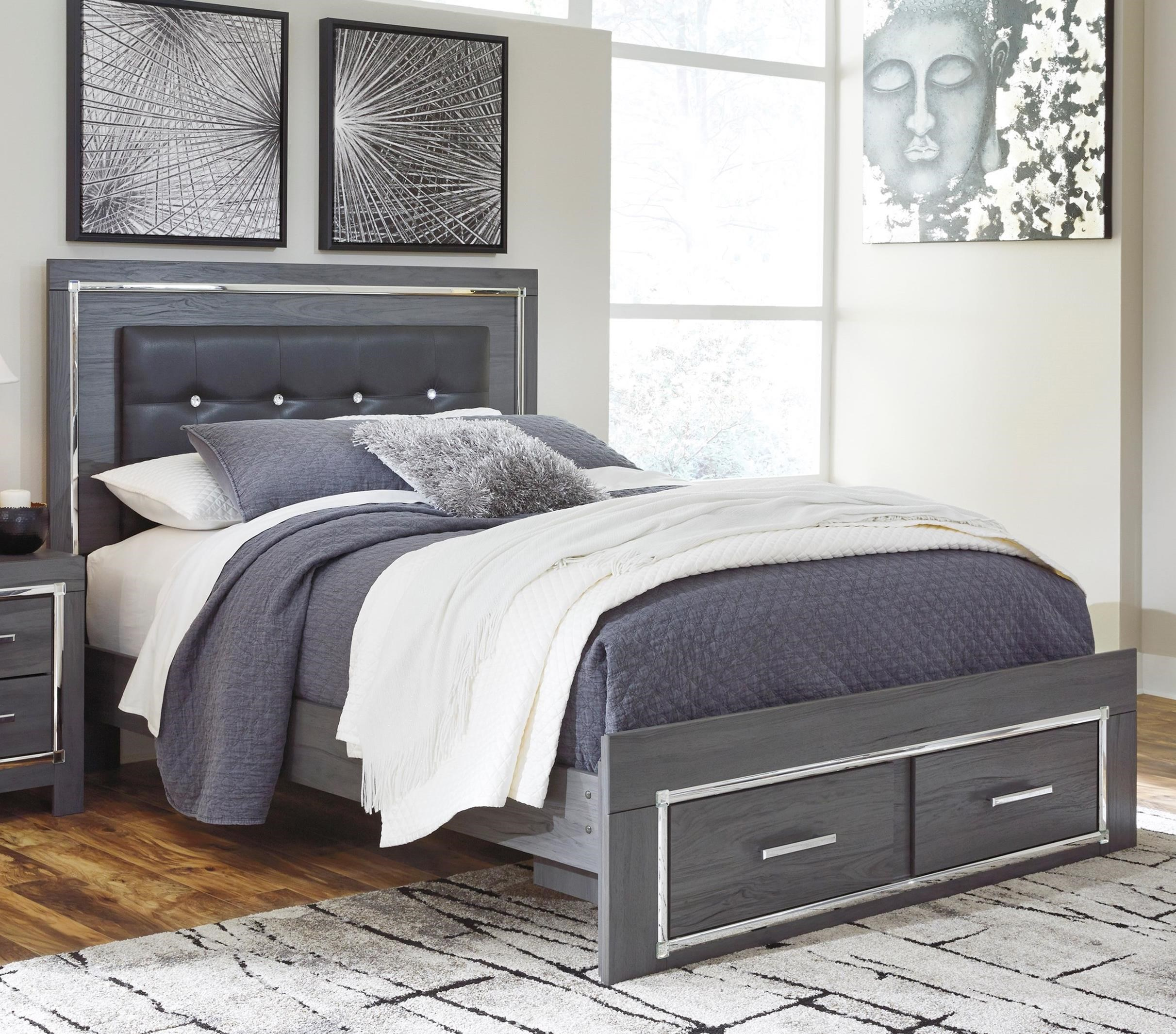 Lodana Queen Upholstered Bed by Signature Design by Ashley at Sparks HomeStore