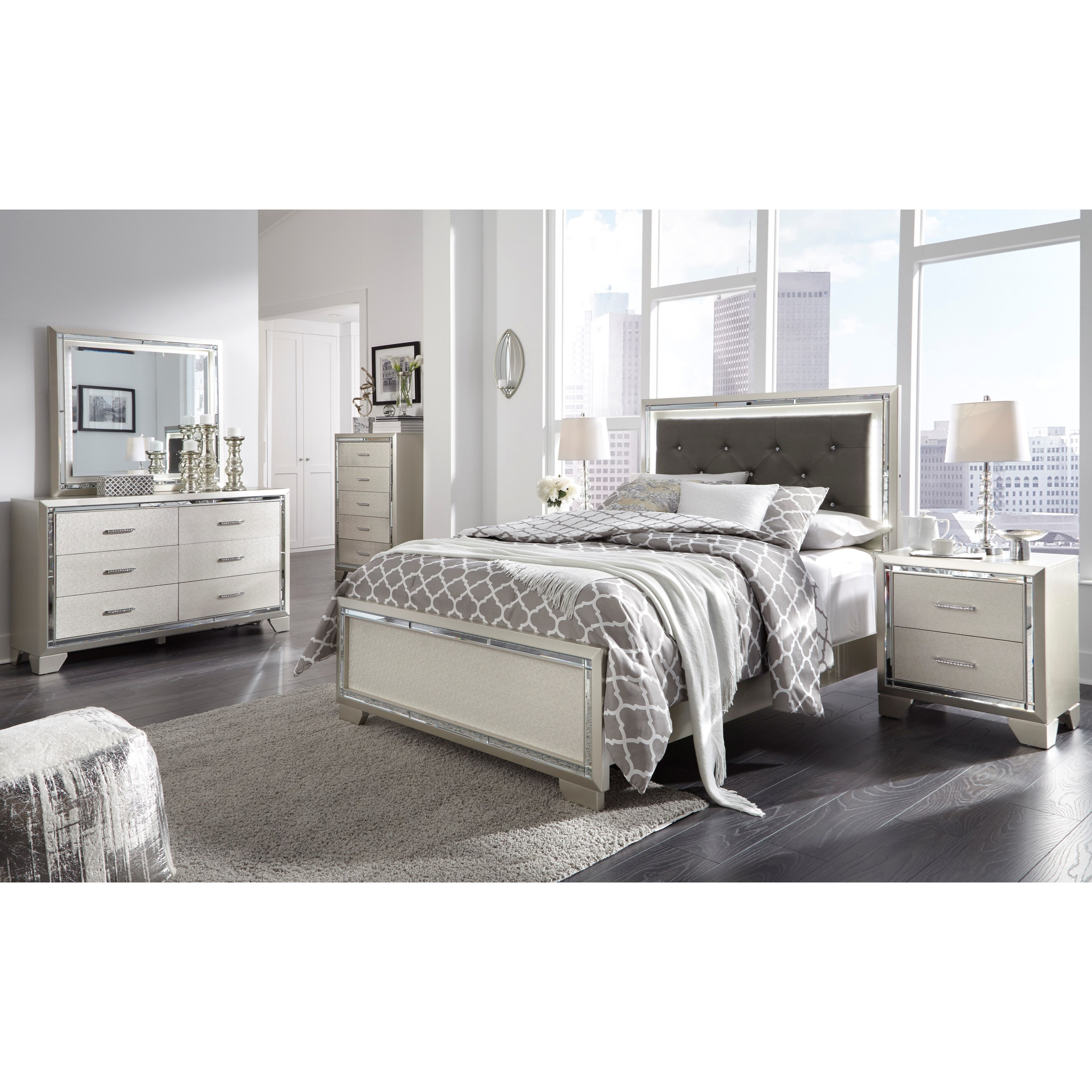 Lonnix Full Bed Room Group by Ashley (Signature Design) at Johnny Janosik