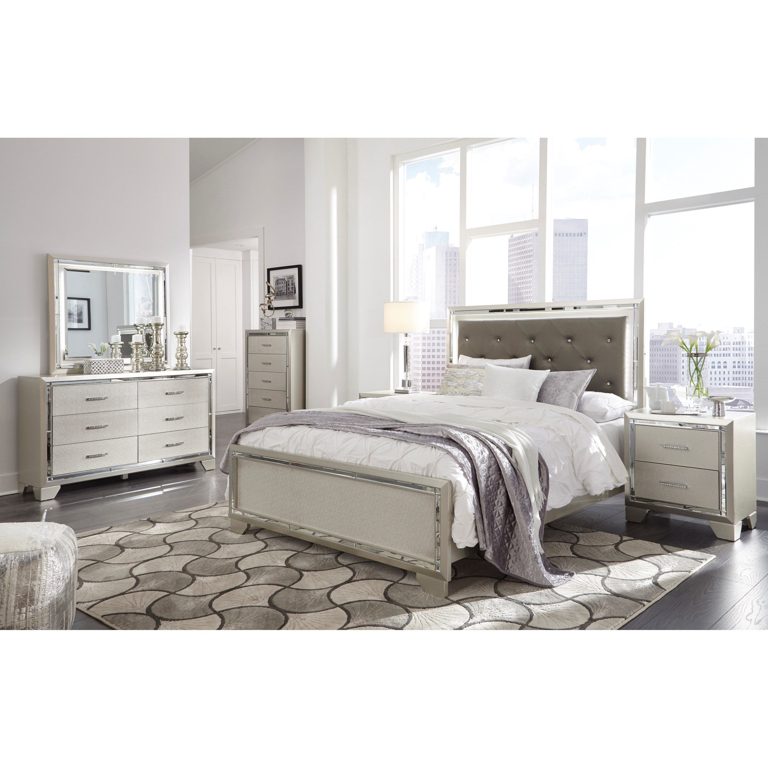 Lonnix Queen Bed Room Group by Ashley (Signature Design) at Johnny Janosik