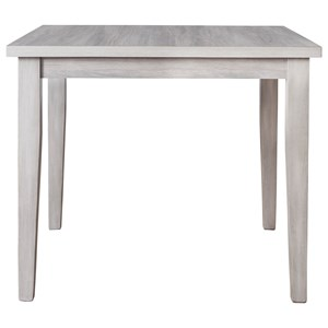 Square Dining Room Table with Melamine Top
