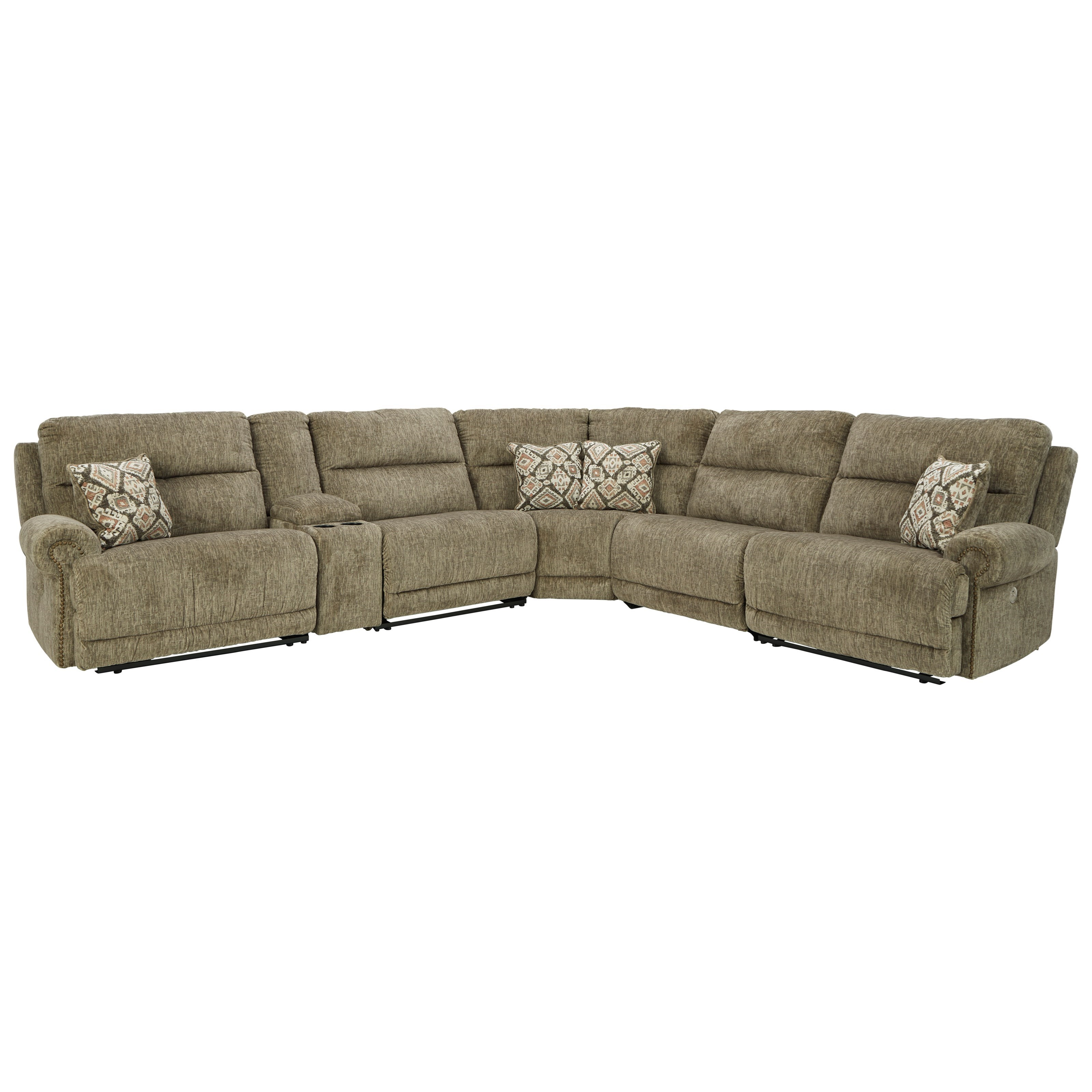 Lubec Power Reclining Sectional by Signature Design by Ashley at Northeast Factory Direct