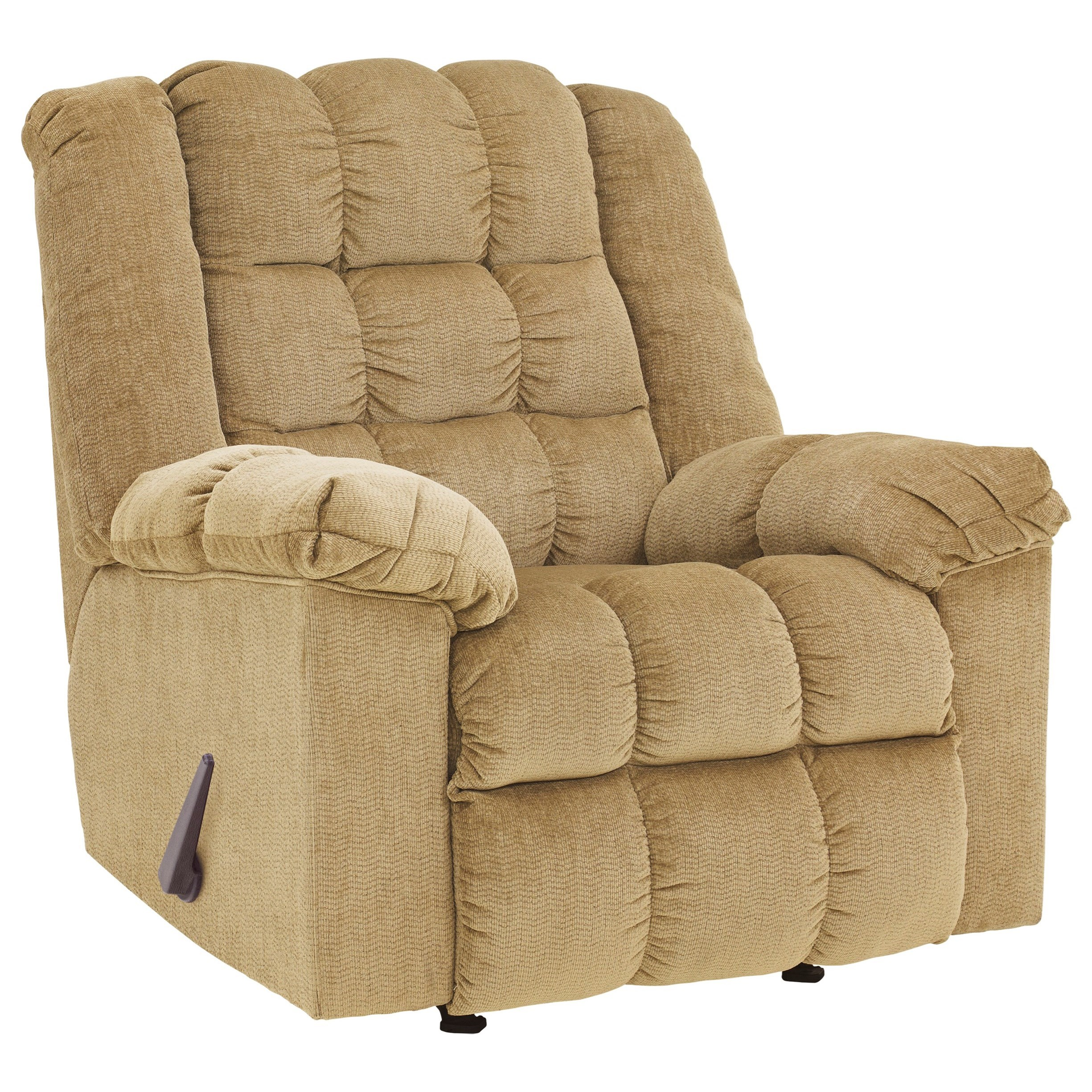 Ludden - Sand Rocker Recliner by Signature Design by Ashley at Northeast Factory Direct