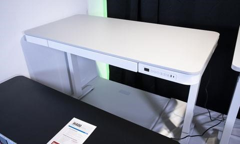 Lynxtyn Adjustable Height Desk by Signature Design by Ashley at Sam Levitz Outlet