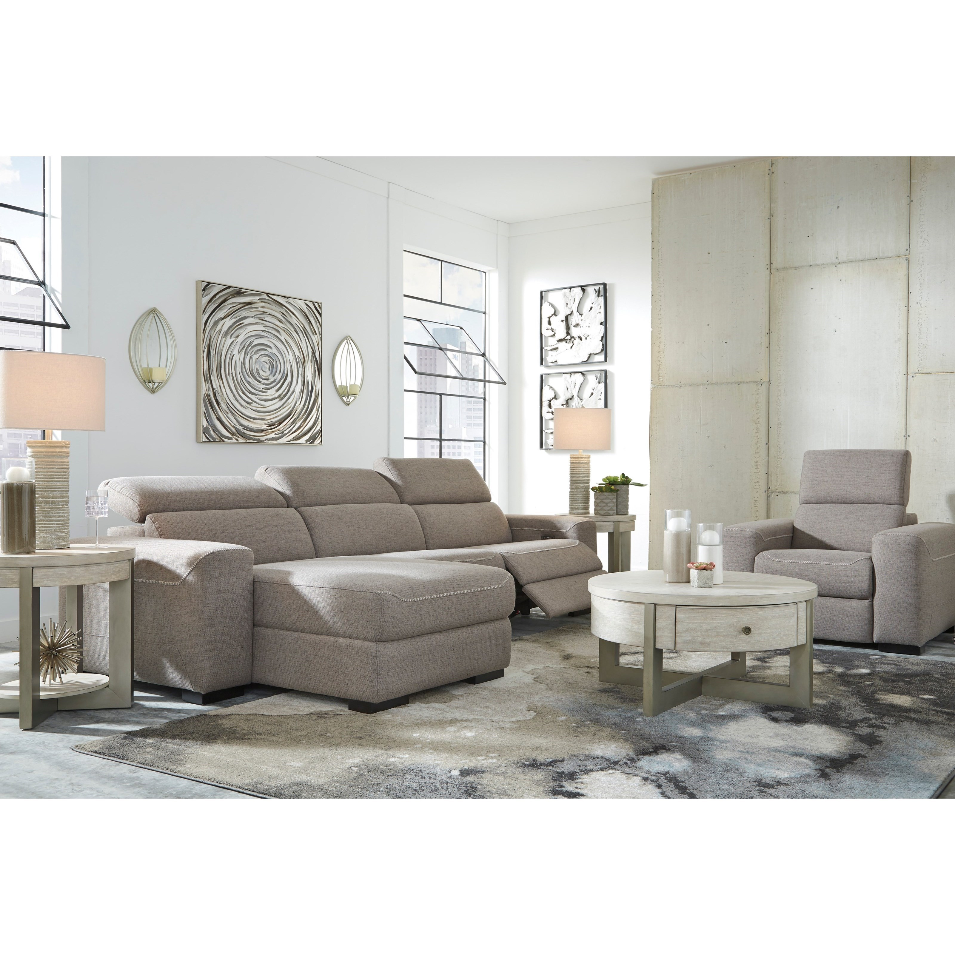 Mabton Power Reclining Living Room Group by Signature Design by Ashley at Sparks HomeStore