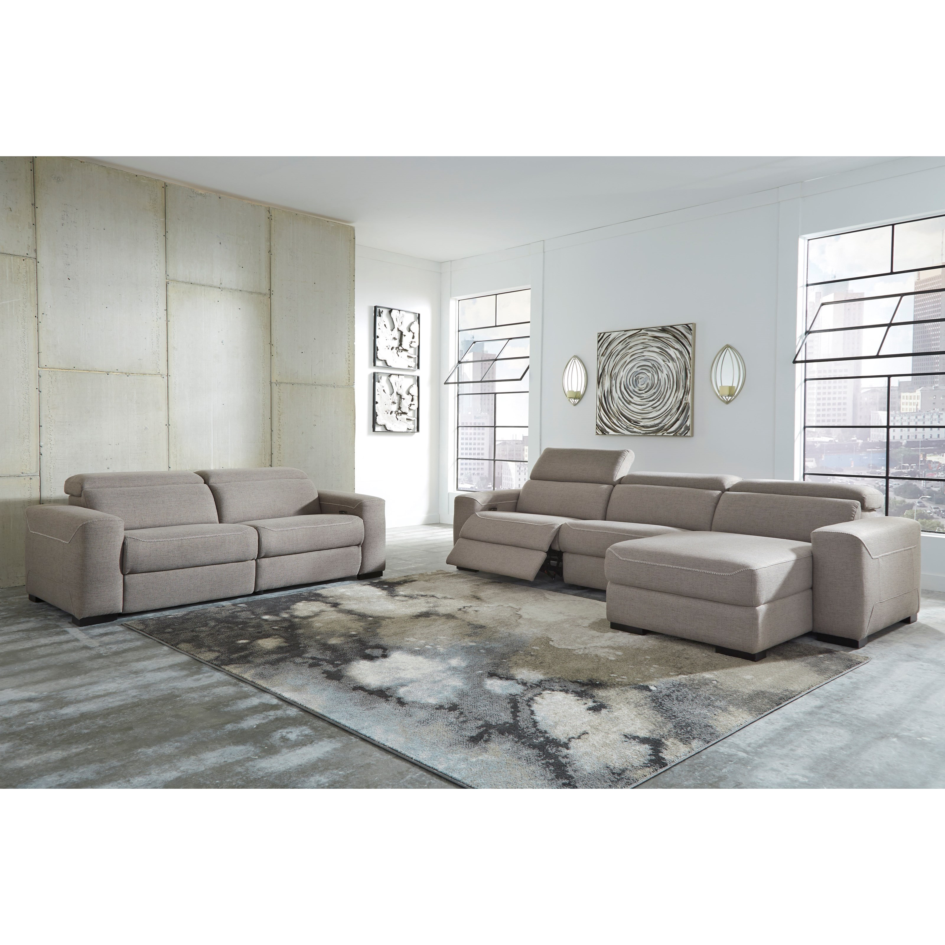 Mabton Power Reclining Living Room Group by Signature Design by Ashley at Value City Furniture
