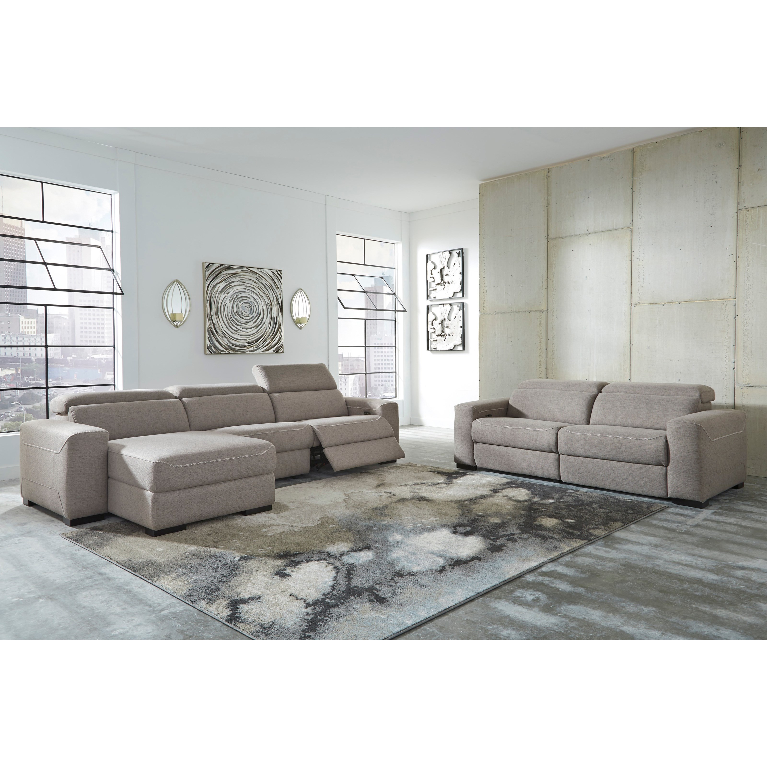 Mabton Power Reclining Living Room Group by Signature Design by Ashley at Zak's Home Outlet