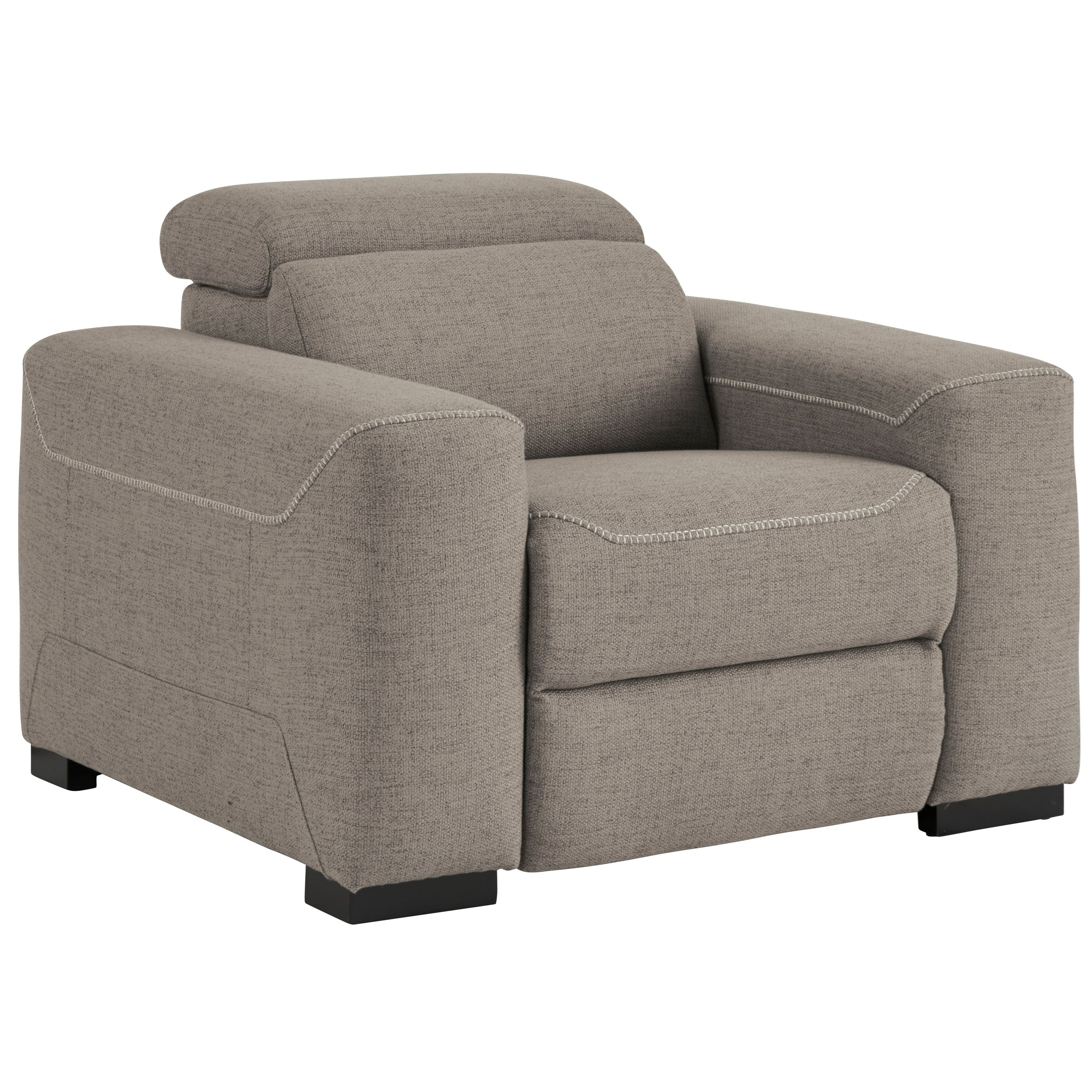 Mabton Power Recliner w/ Adj. Headrest by Signature Design by Ashley at Beck's Furniture