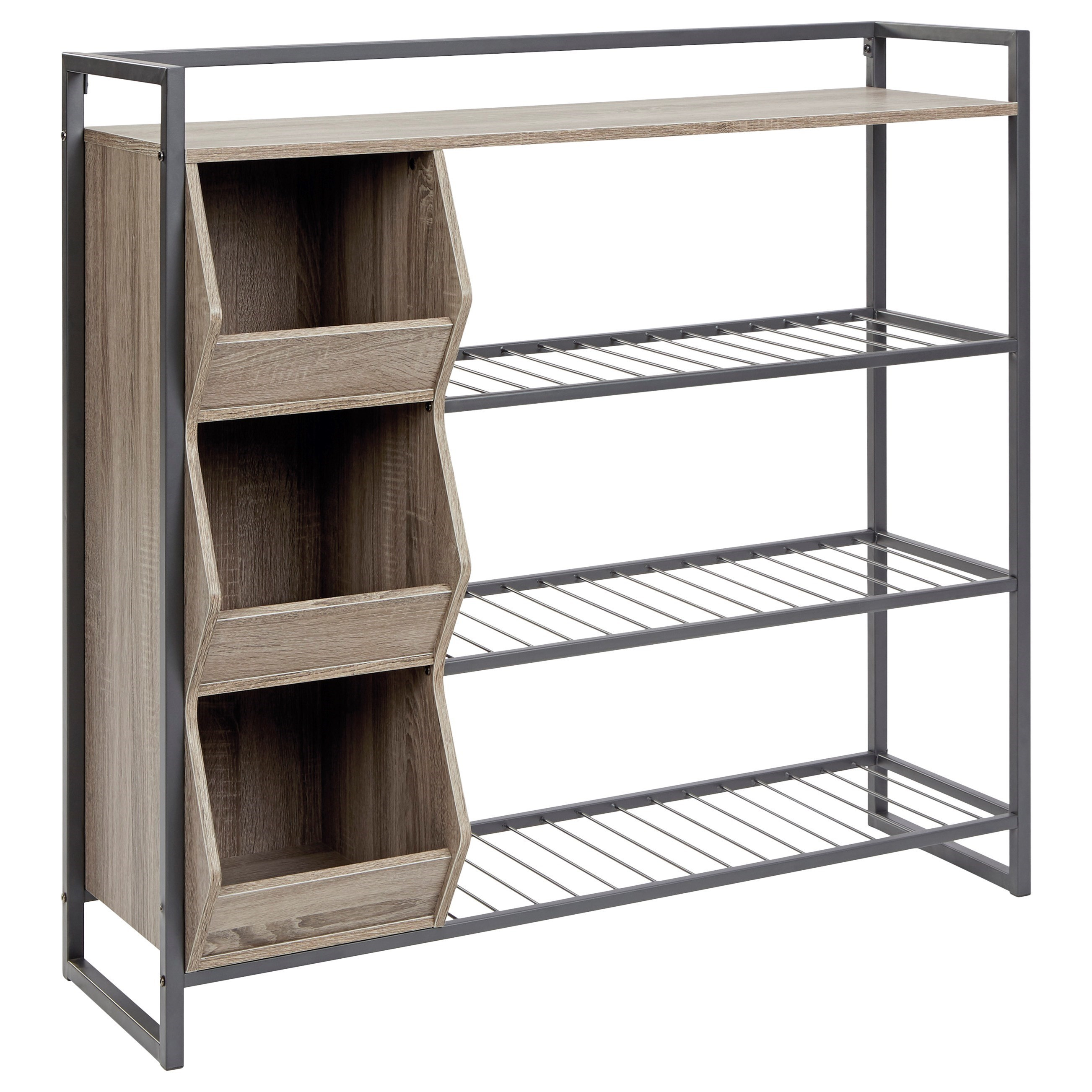 Maccenet Shoe Rack by Signature Design by Ashley at Zak's Warehouse Clearance Center
