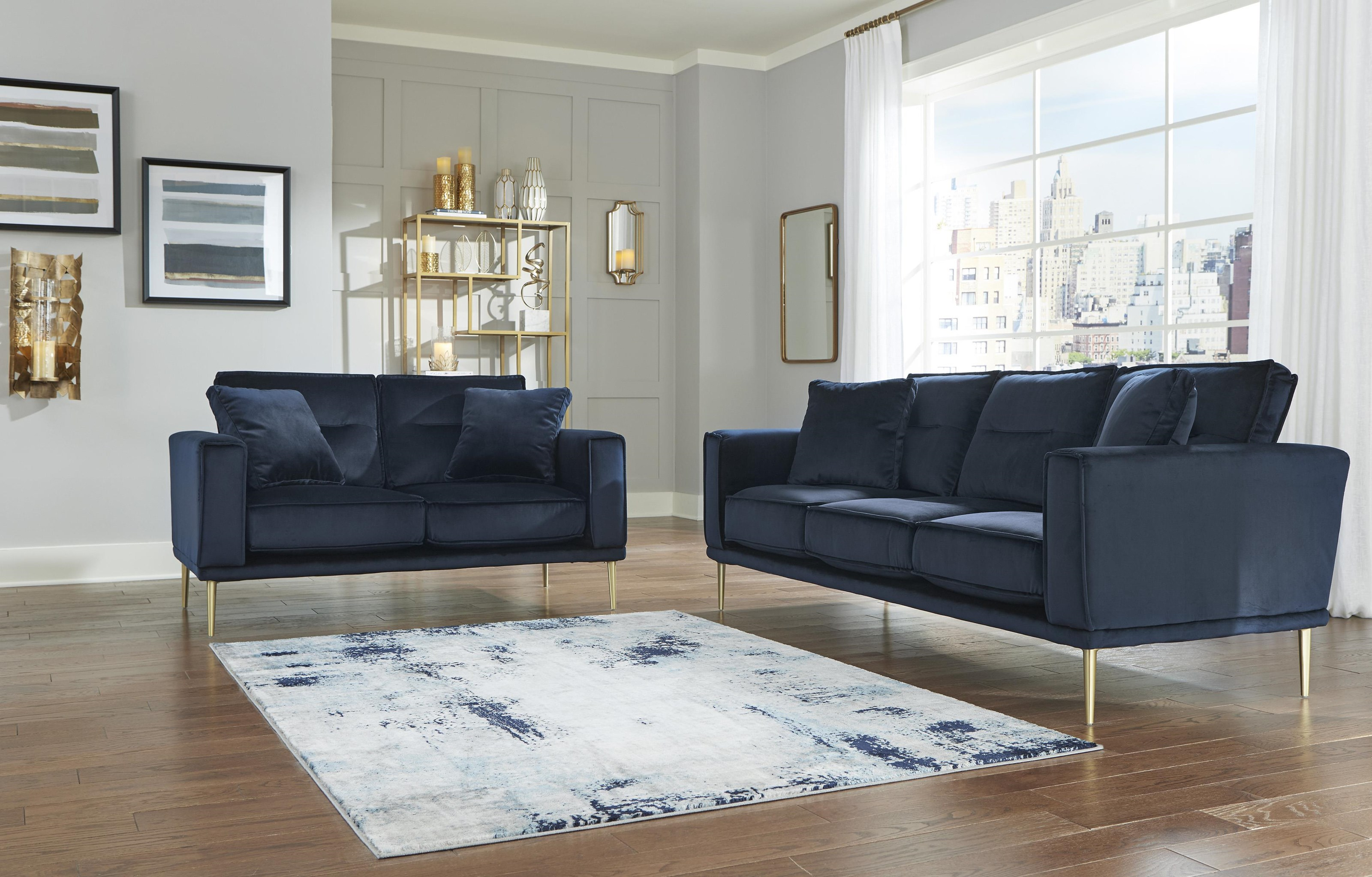 Macleary Sofa and Loveseat Set by Signature Design by Ashley at Sam Levitz Furniture