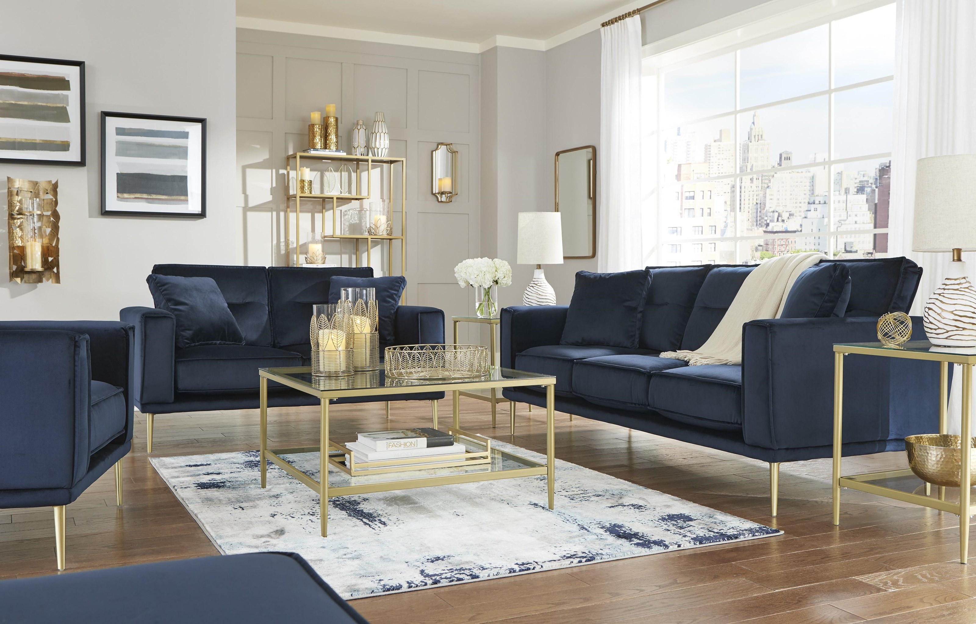 Macleary Sofa, Chair and Ottoman Set by Signature Design by Ashley at Sam Levitz Outlet