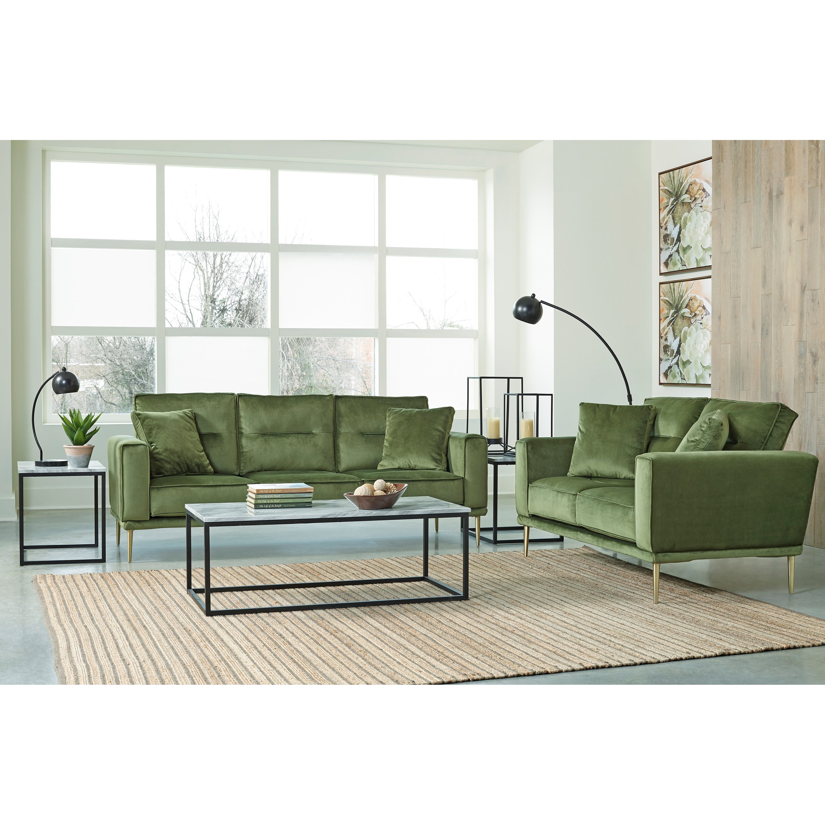 Macleary Living Room Group by Signature Design by Ashley at Zak's Warehouse Clearance Center