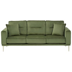 Modern Sofa with Metal Legs