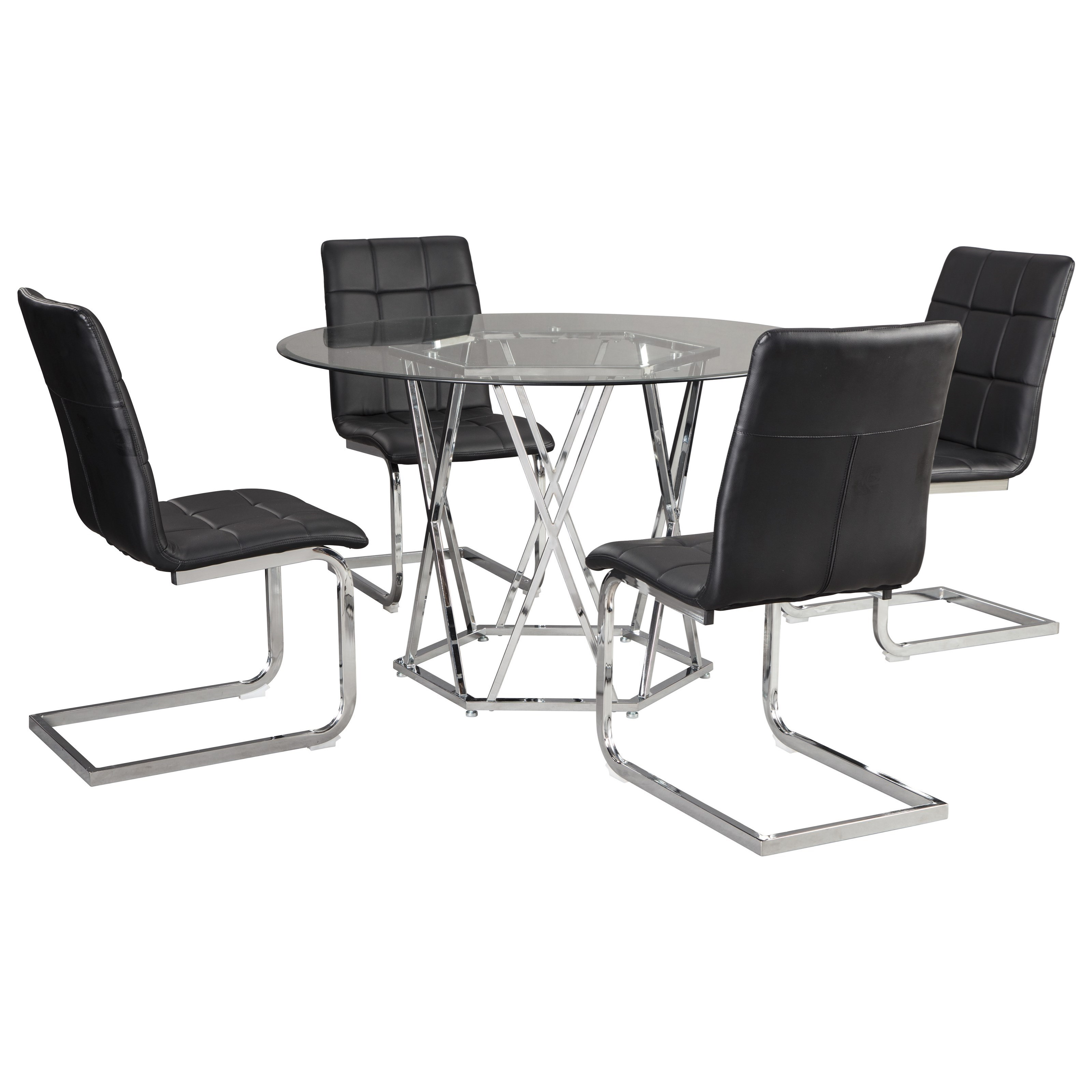Madanere  5-Piece Dining Set by Signature Design by Ashley at Northeast Factory Direct