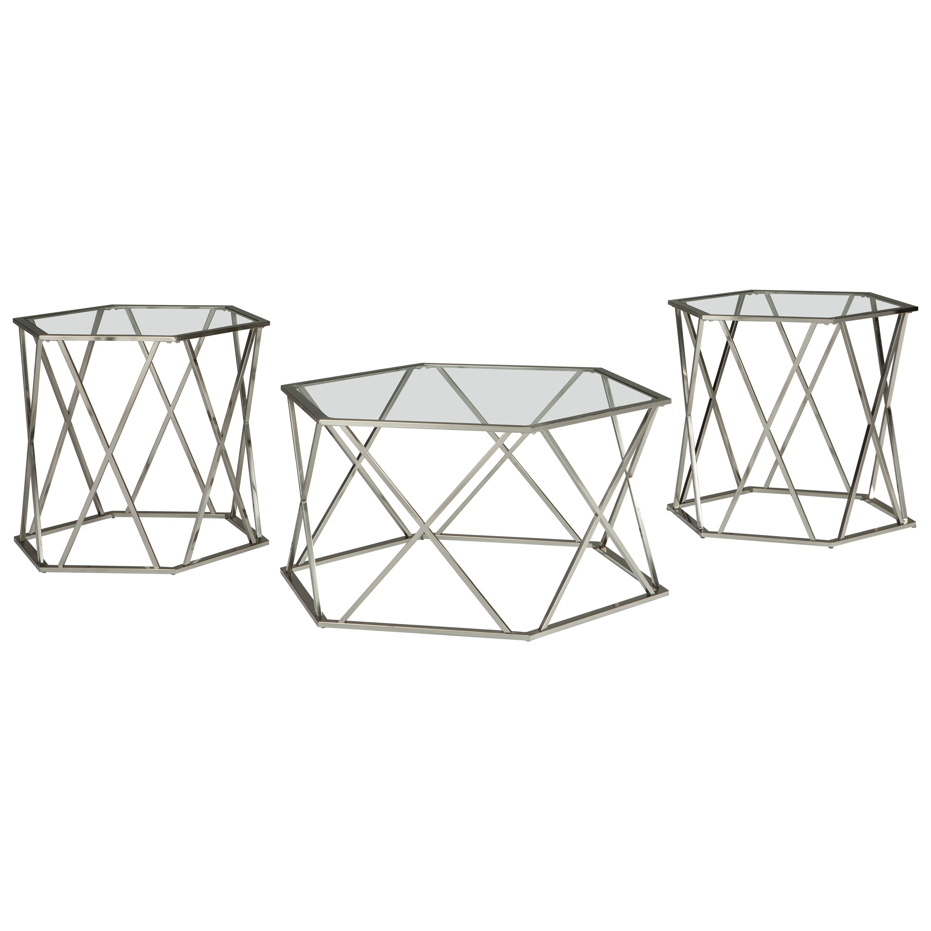 Madanere Occasional Table Set by Signature Design by Ashley at Furniture Barn