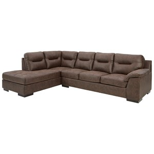 2-Piece Sectional with Chaise