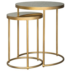 Set of 2 Nesting Accent Tables