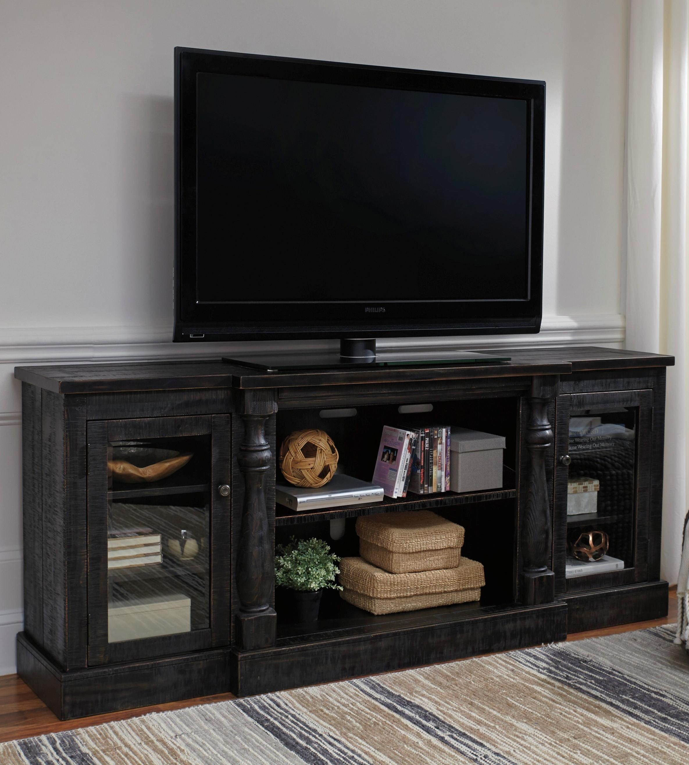 Mallacar XL TV Stand by Signature Design by Ashley at Furniture Fair - North Carolina