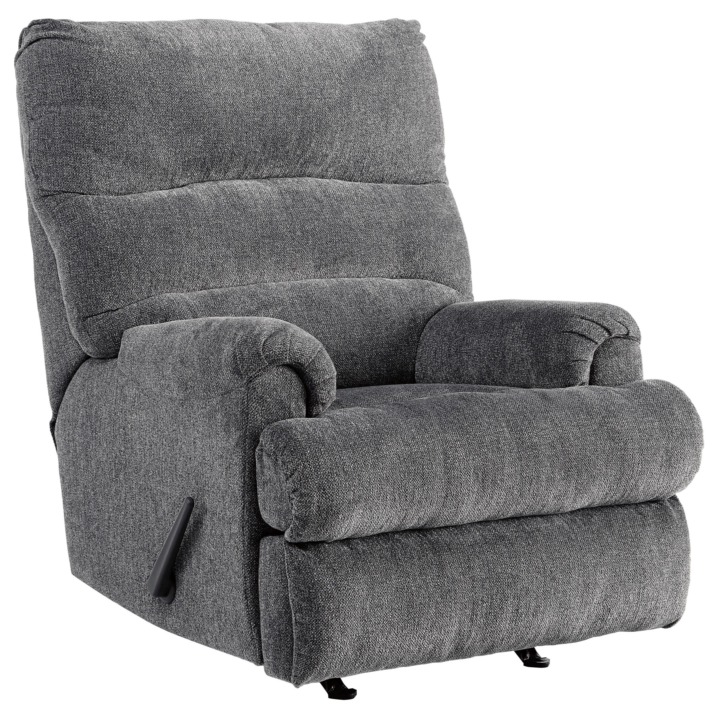 Man Fort Rocker Recliner by Ashley Signature Design at Rooms and Rest