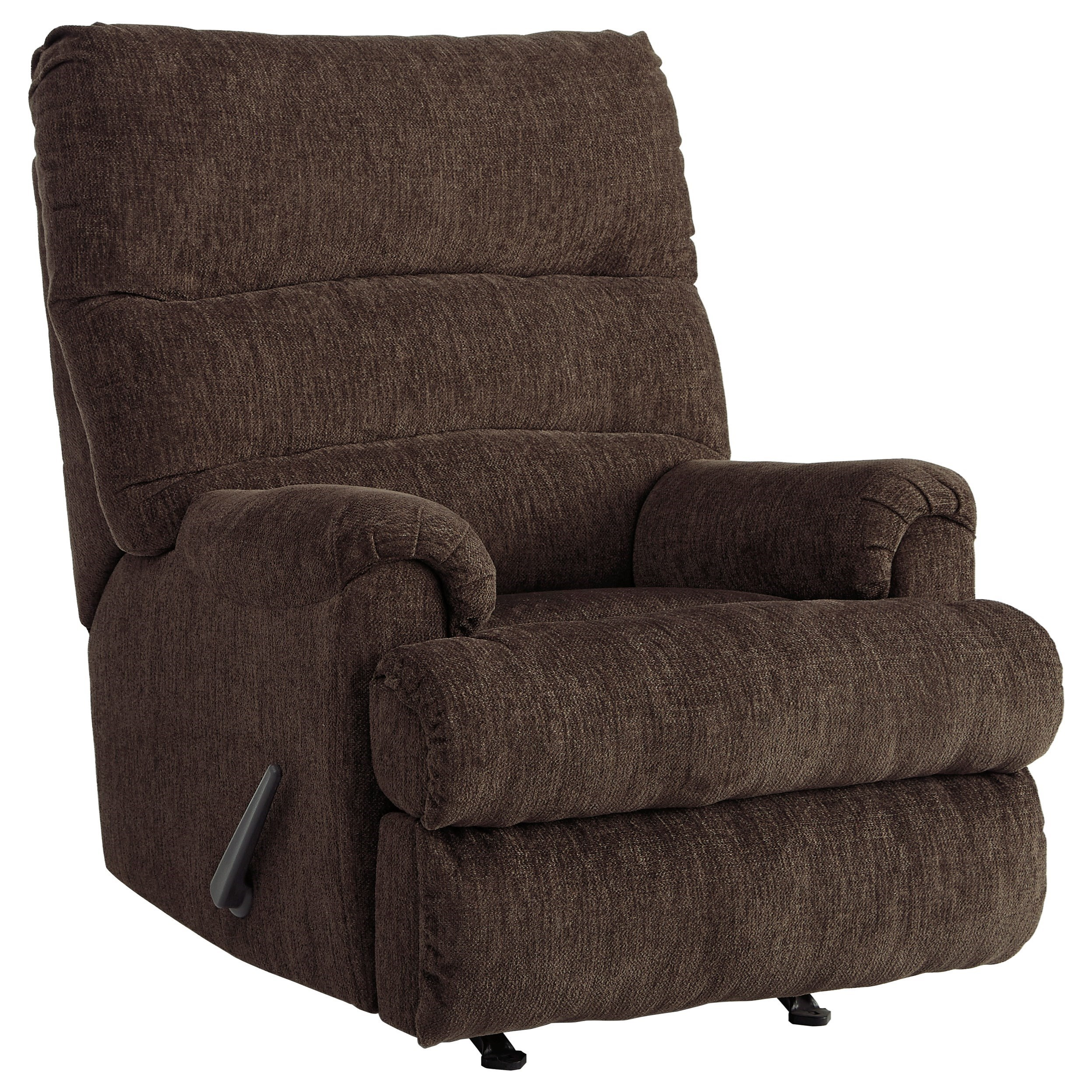 Man Fort Rocker Recliner by Signature Design by Ashley at Northeast Factory Direct