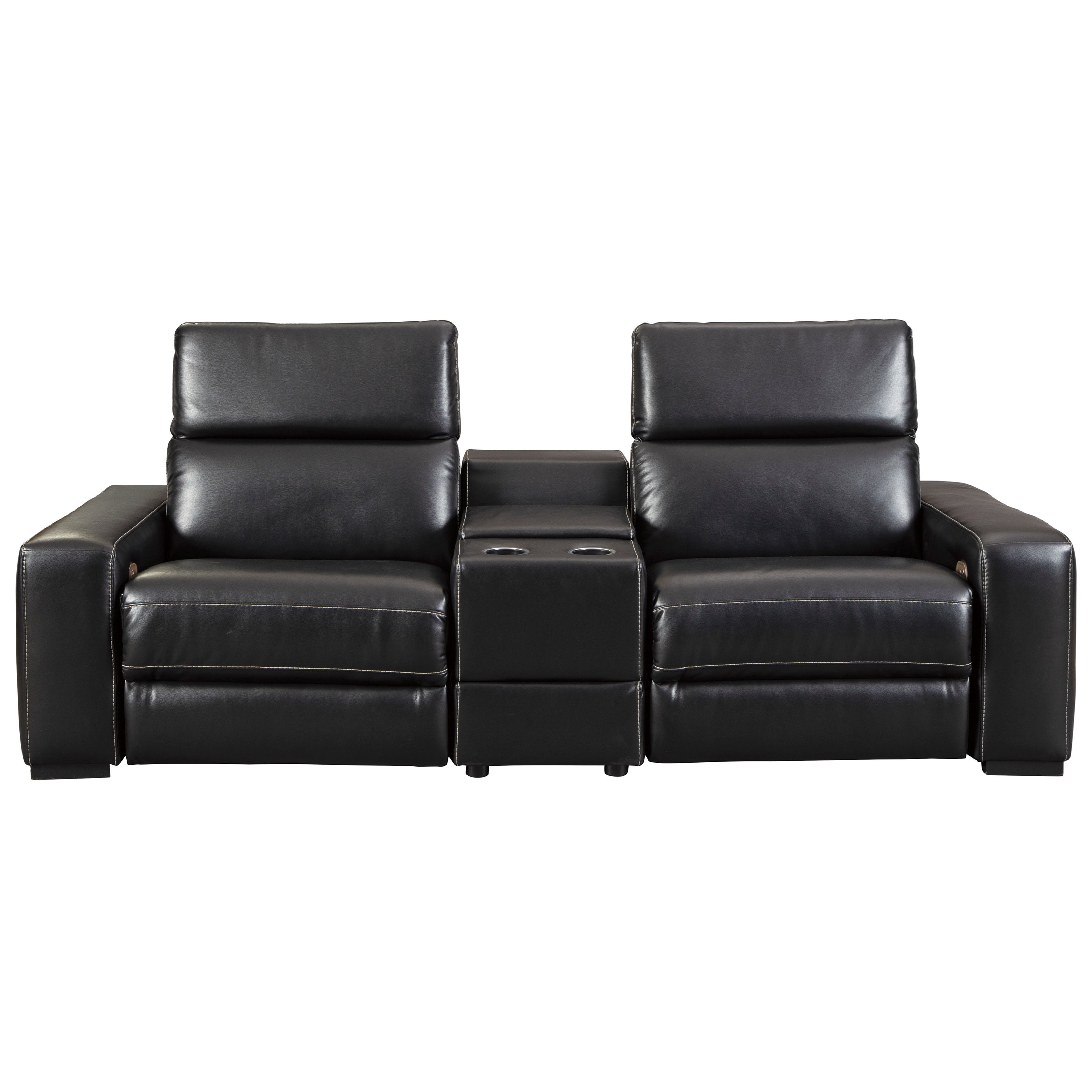 Mantonya Power Reclining Sectional by Signature Design by Ashley at Northeast Factory Direct