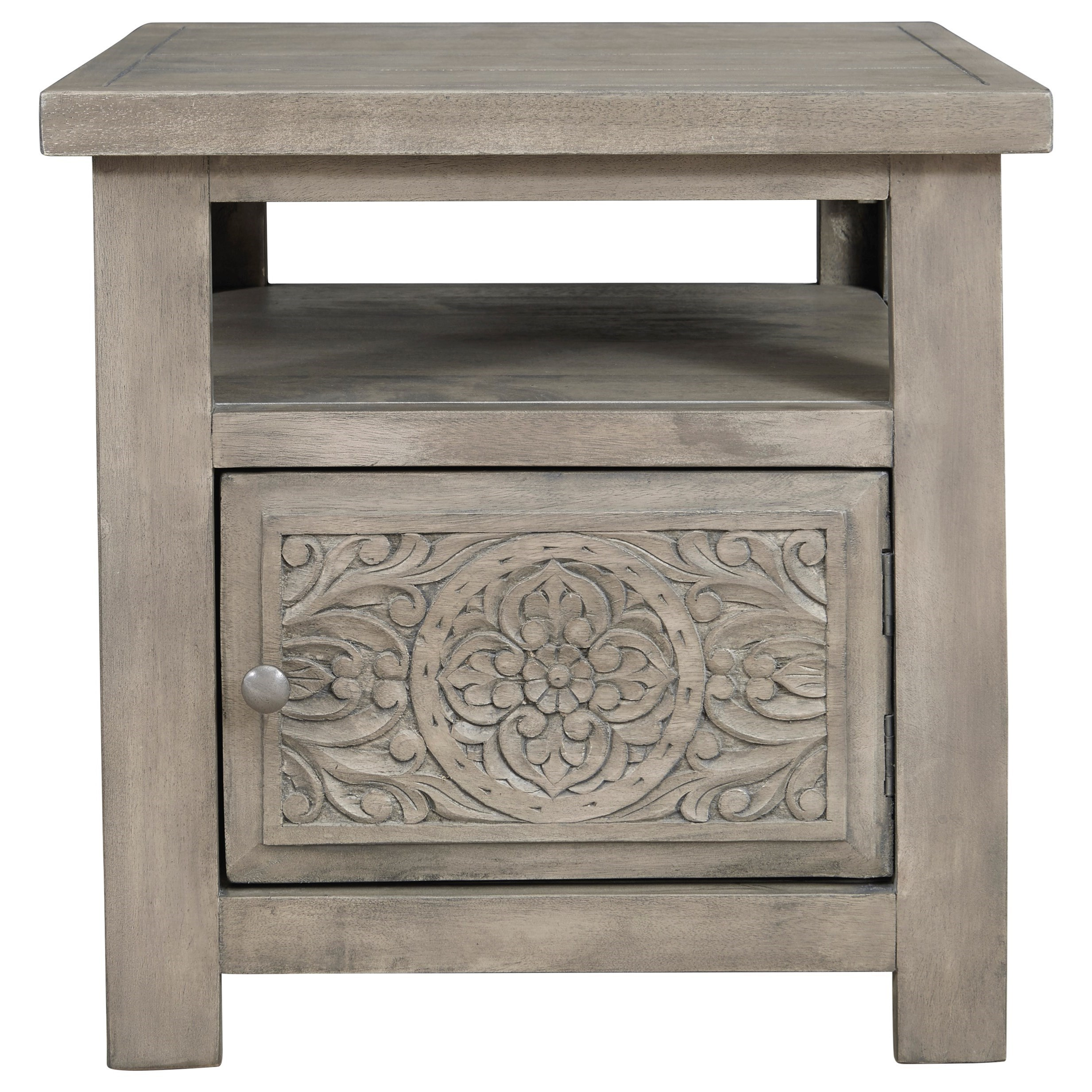 Marcilyn Rectangular End Table by Signature at Walker's Furniture