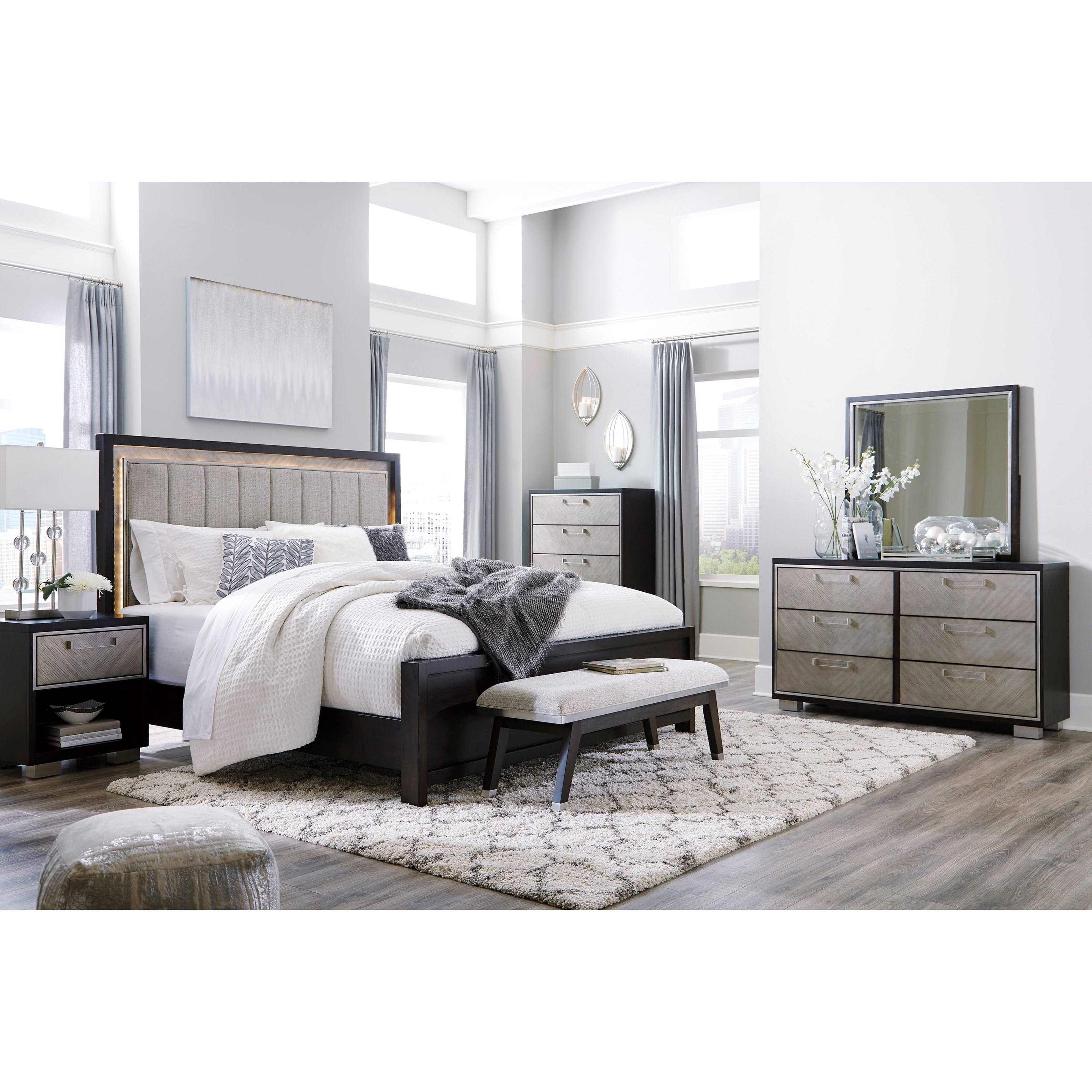 Maretto King Bedroom Group by Signature Design by Ashley at Northeast Factory Direct