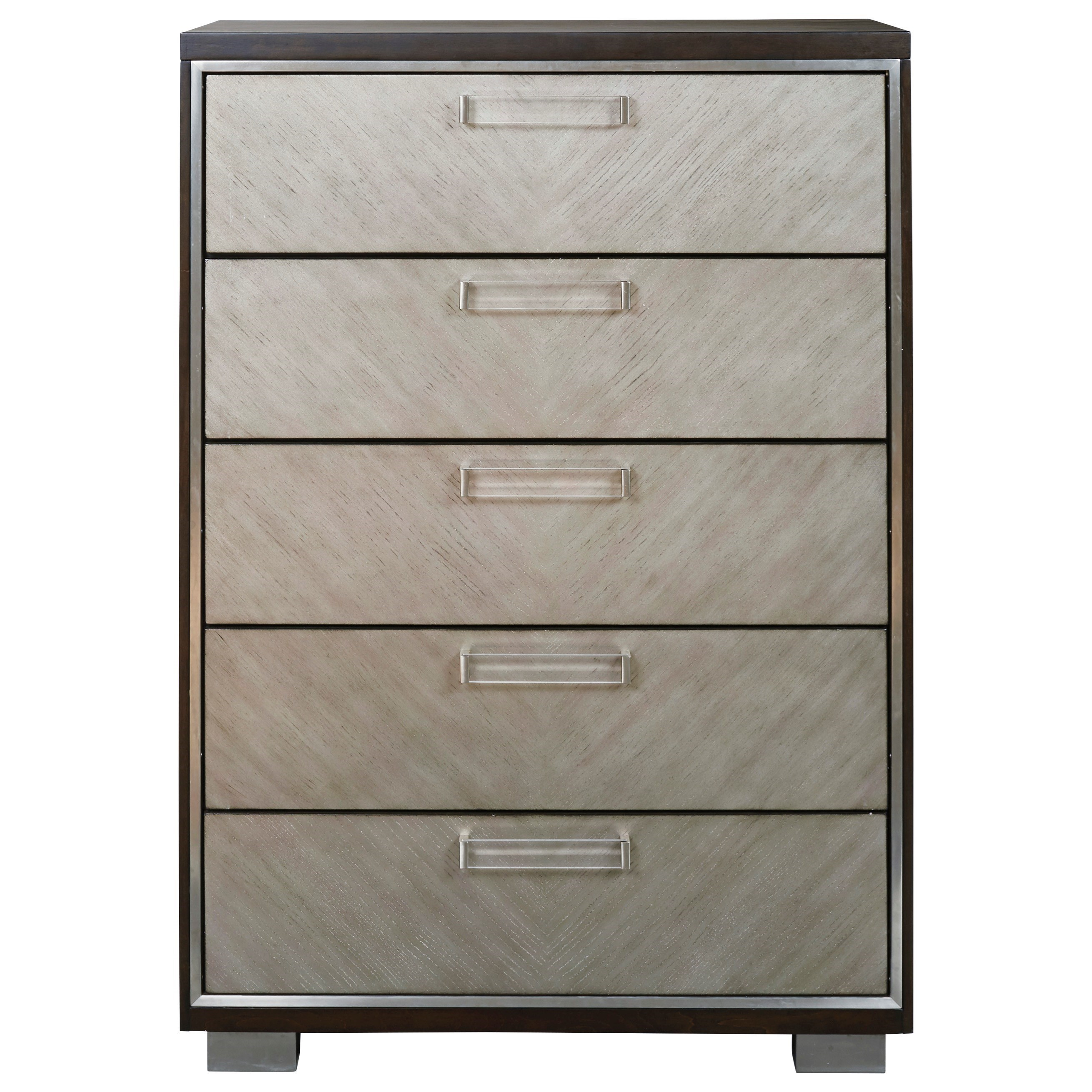 Maretto Five Drawer Chest by Signature Design by Ashley at Home Furnishings Direct