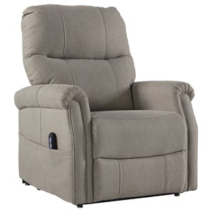 Transitional Power Lift Recliner with USB Port