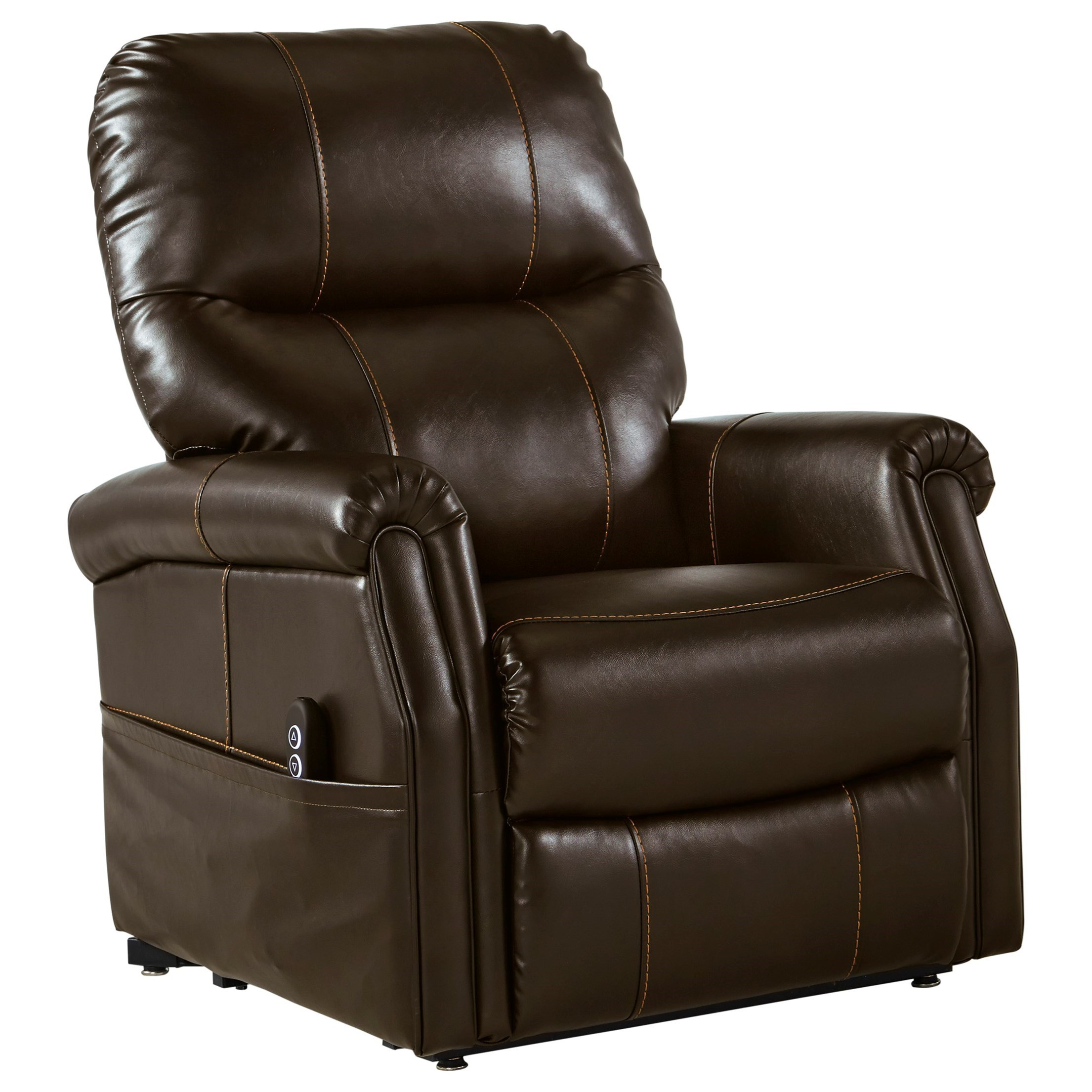 Markridge Power Lift Recliner by Signature Design by Ashley at Beck's Furniture