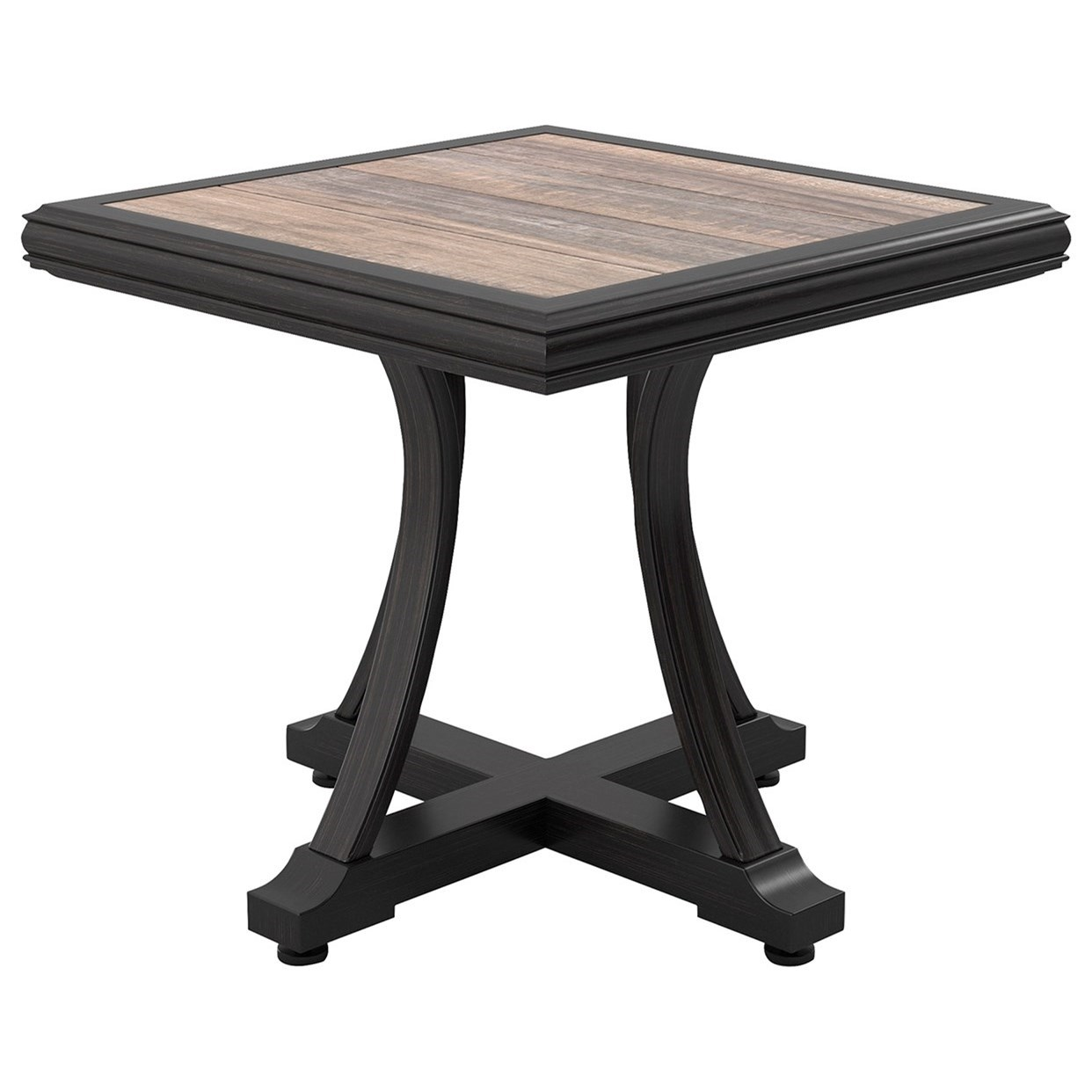 Marsh Creek Square End Table by Signature Design by Ashley at Lapeer Furniture & Mattress Center