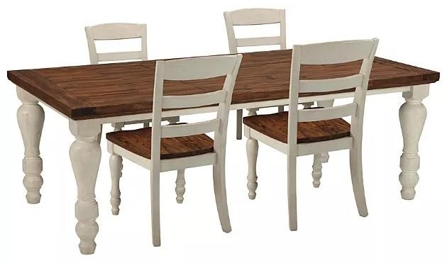 Marsilona Marsilona 5-Piece Dining Package by Ashley at Morris Home