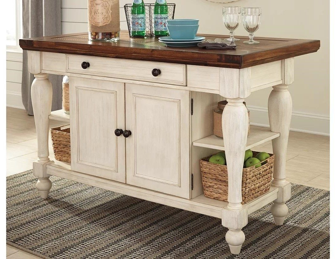 Marsilona Marsilona Counter Height Kitchen Island by Ashley at Morris Home