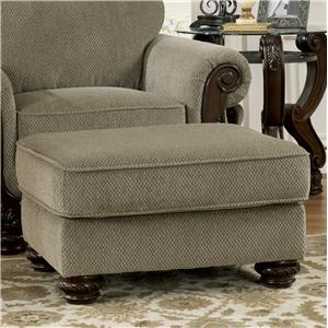 Signature Design by Ashley Furniture Martinsburg - Meadow Ottoman