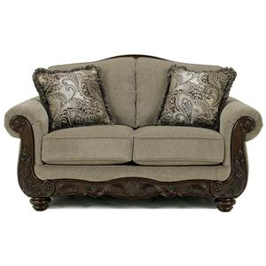 Signature Design by Ashley Furniture Martinsburg - Meadow Loveseat
