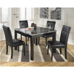Signature Design by Ashley Maysville Square Dining Room Table Set
