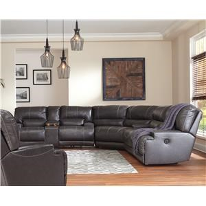 Power Recliner Sectional and Power Recliner Set