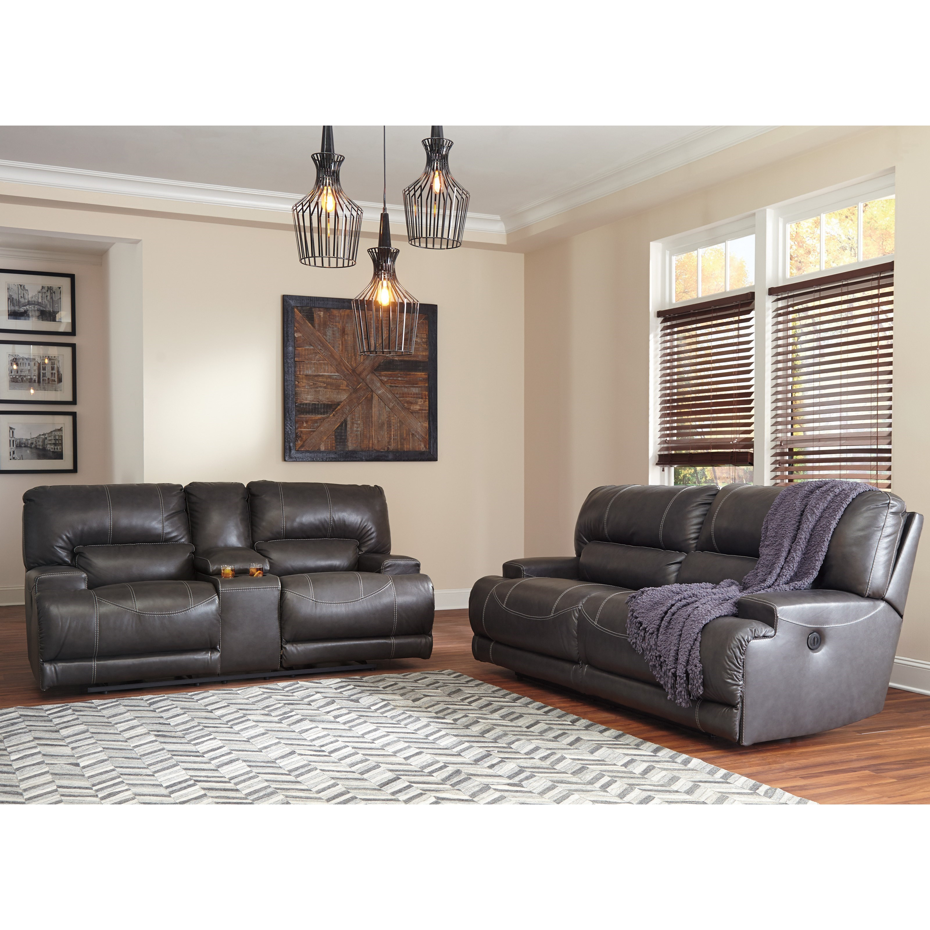 McCaskill Reclining Living Room Group by Ashley (Signature Design) at Johnny Janosik
