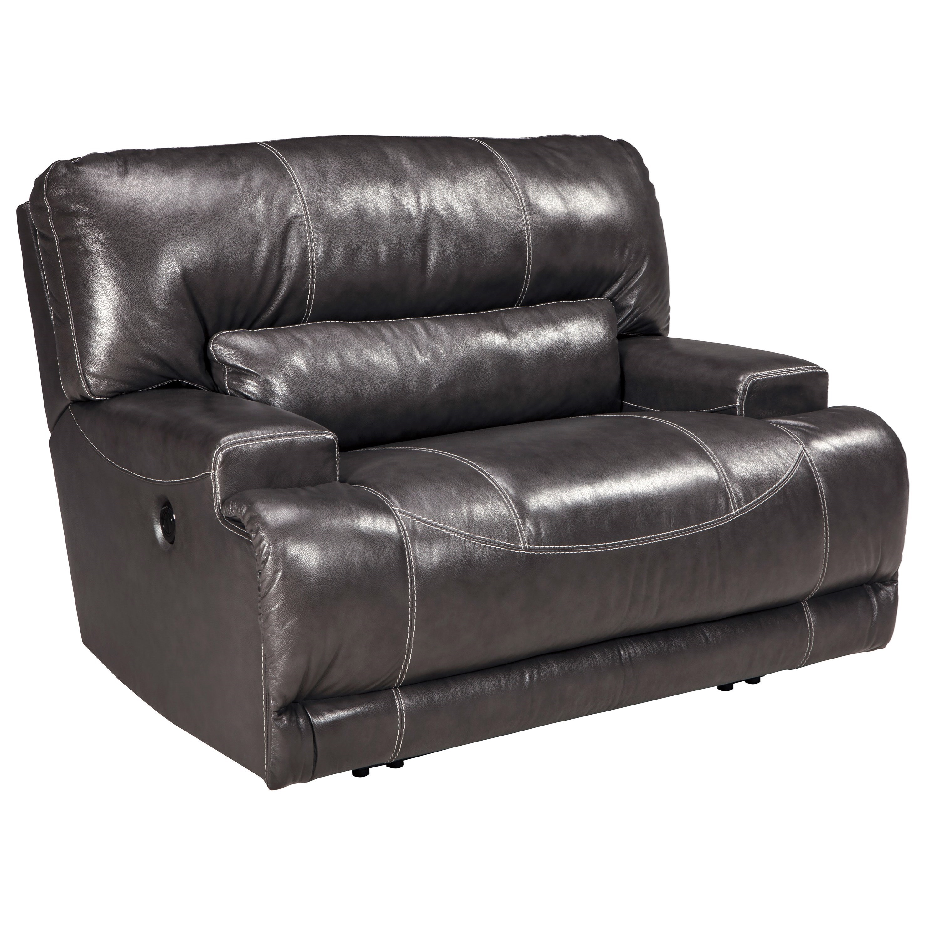 McCaskill Wide Seat Recliner by Ashley (Signature Design) at Johnny Janosik