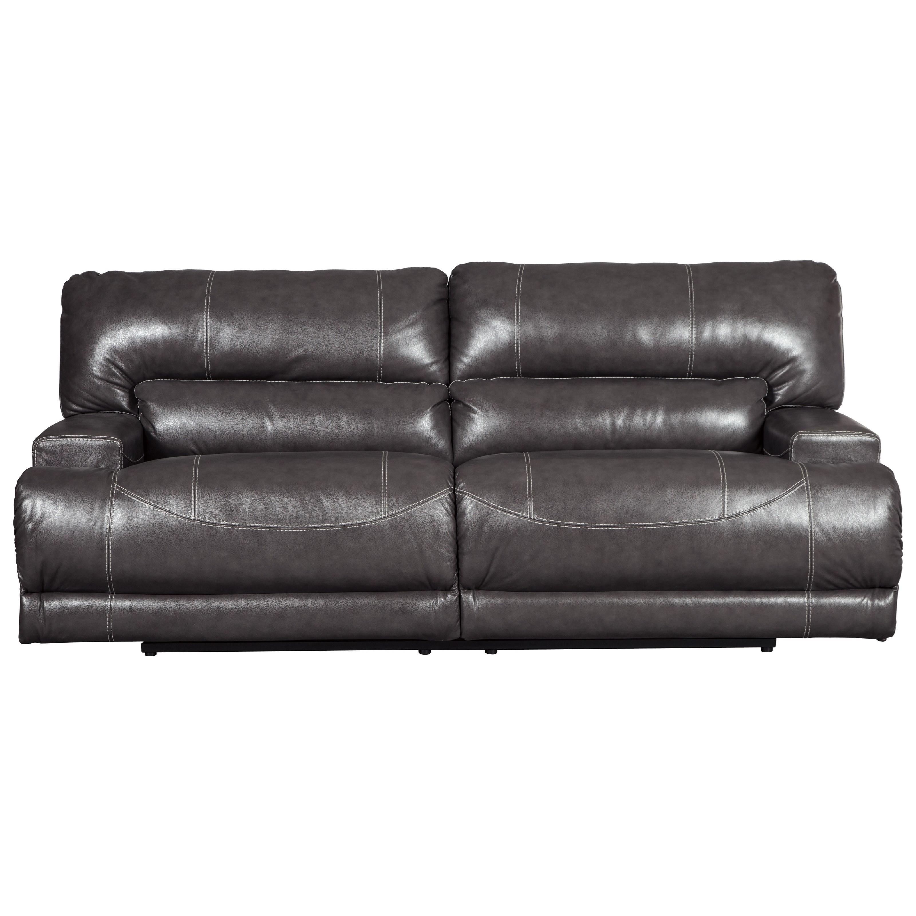 McCaskill 2-Seat Reclining Sofa by Ashley (Signature Design) at Johnny Janosik