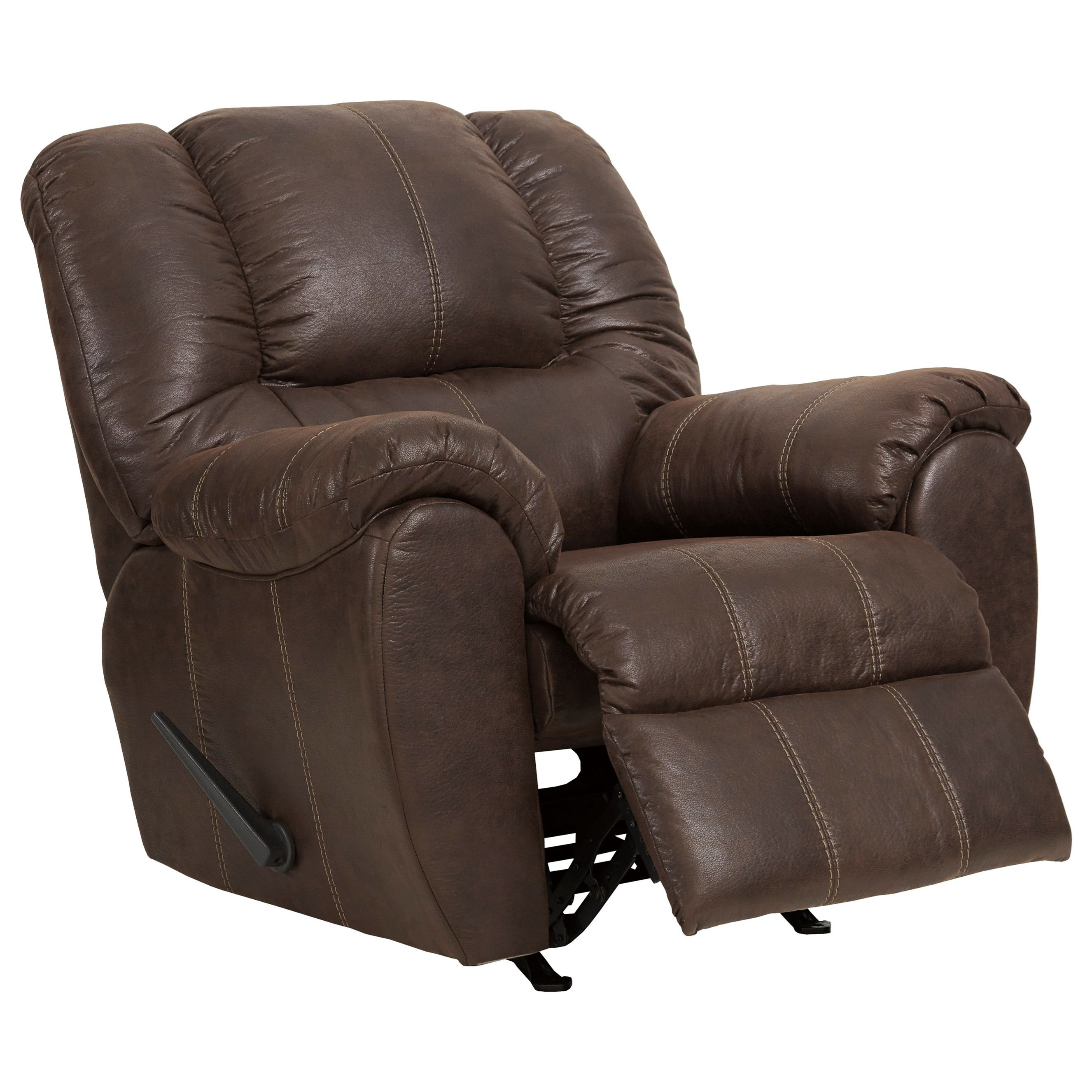 McGann Rocker Recliner by Signature Design by Ashley at Beck's Furniture