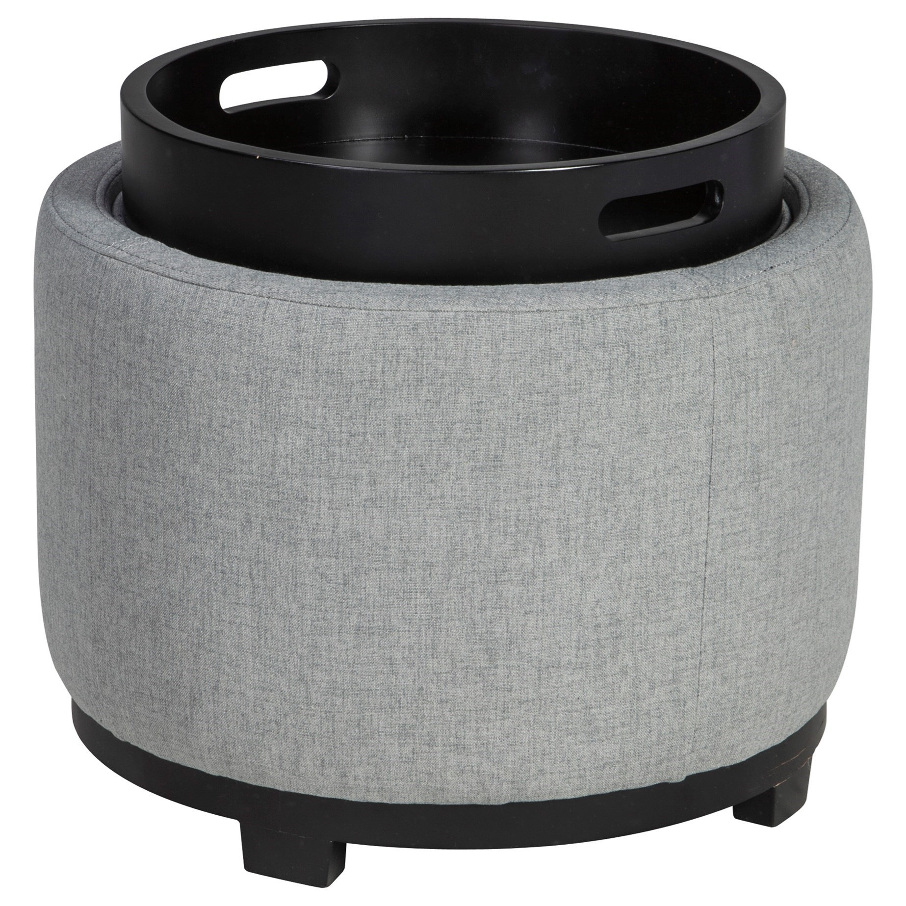 Menga Ottoman With Storage/Reversible Tray Top by Ashley at Morris Home