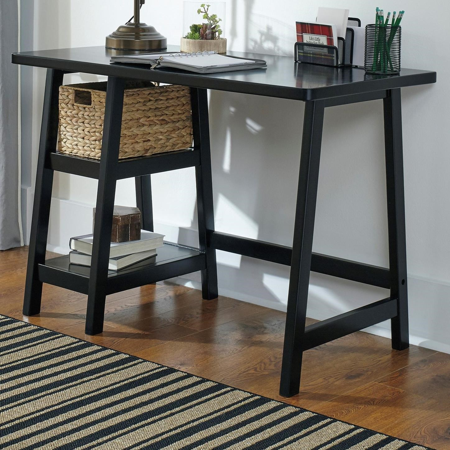 Mirimyn Home Office Small Desk by Signature at Walker's Furniture